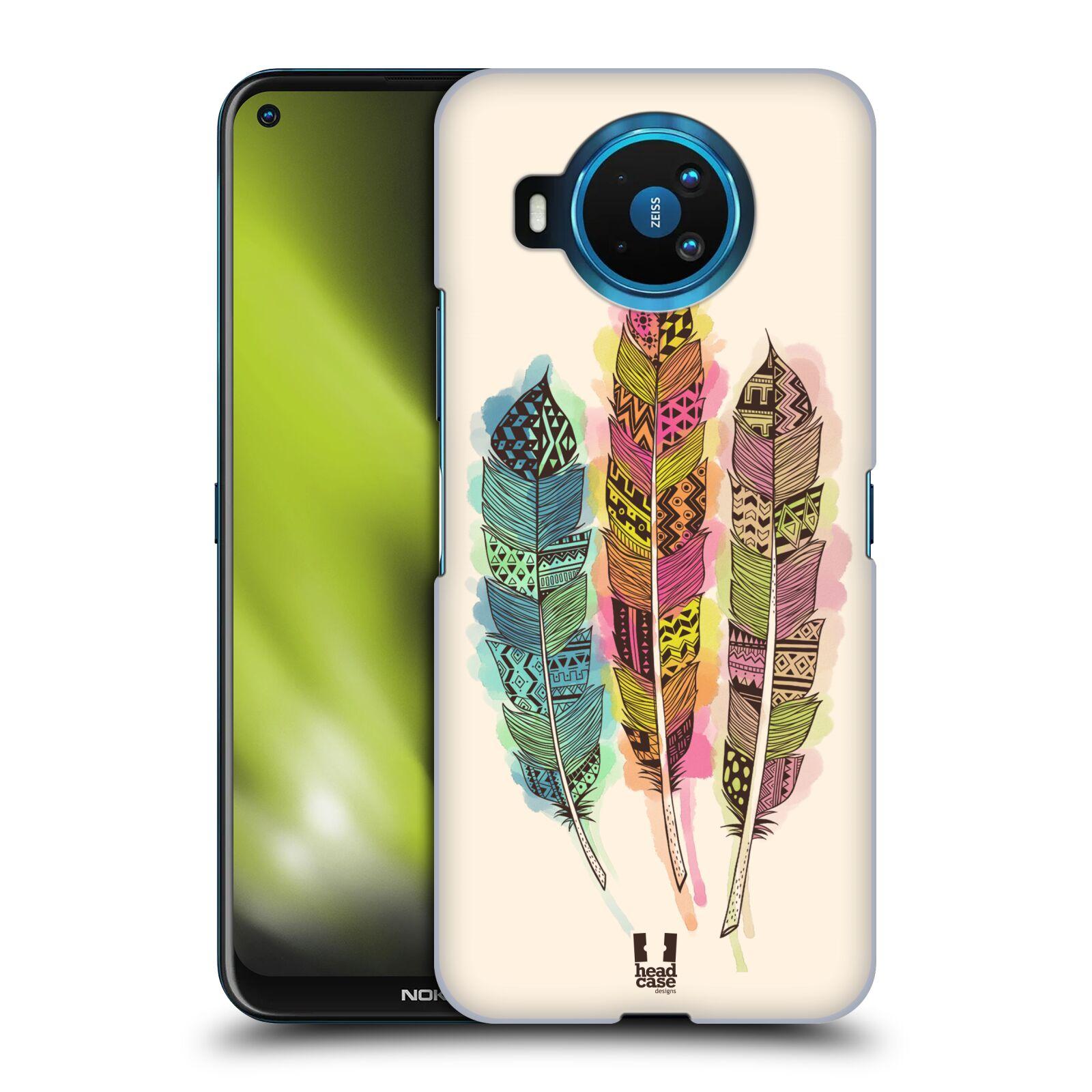 Plastové pouzdro na mobil Nokia 8.3 5G - Head Case - AZTEC PÍRKA SPLASH