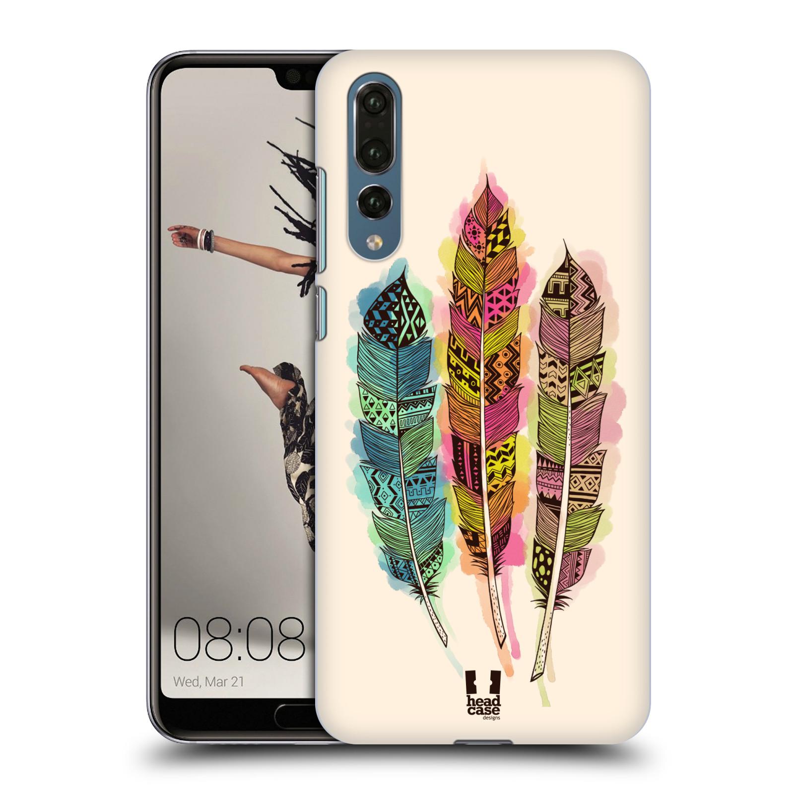 Plastové pouzdro na mobil Huawei P20 Pro - Head Case - AZTEC PÍRKA SPLASH