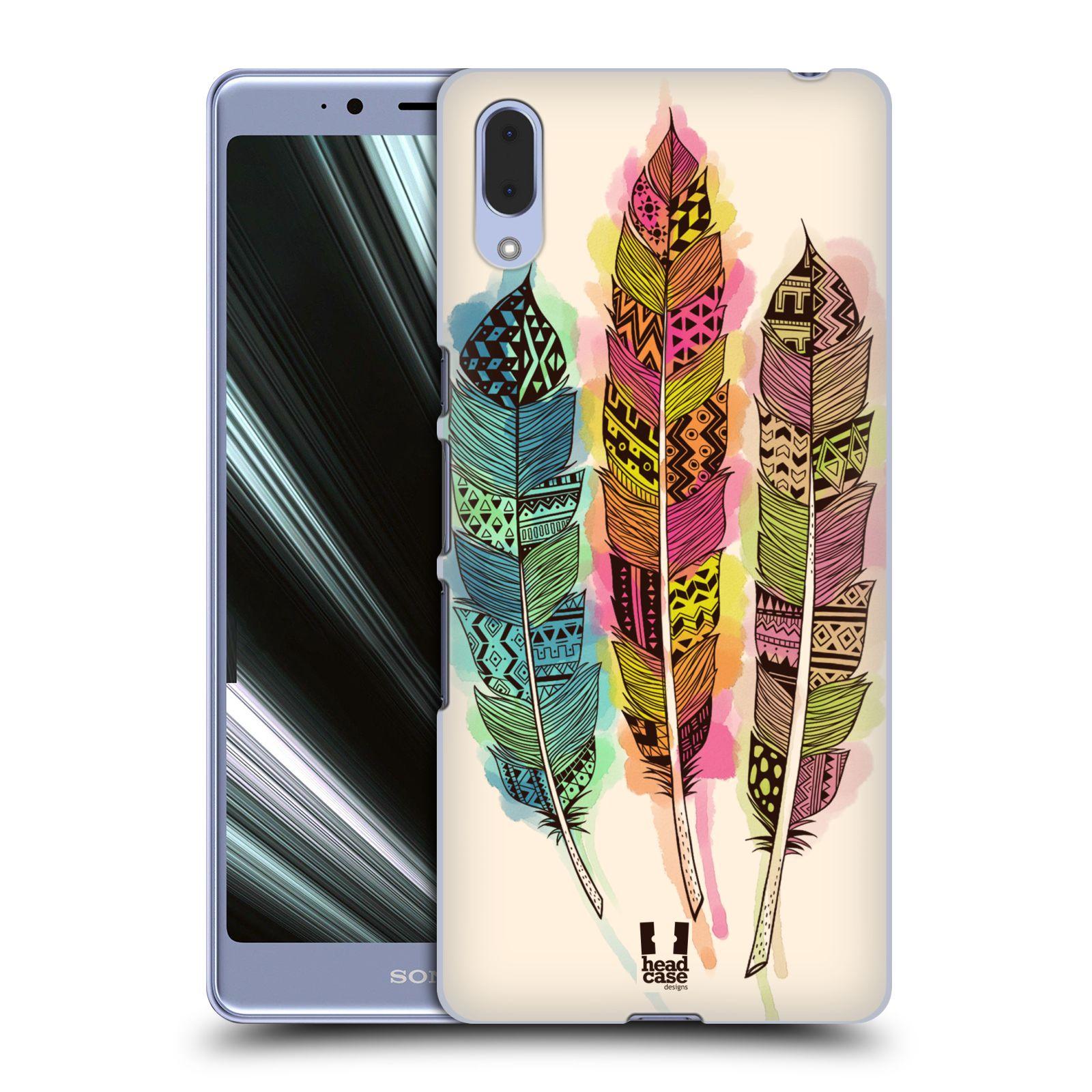 Plastové pouzdro na mobil Sony Xperia L3 - Head Case - AZTEC PÍRKA SPLASH