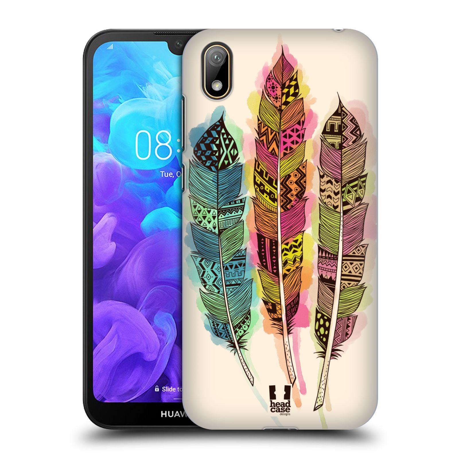 Plastové pouzdro na mobil Honor 8S - Head Case - AZTEC PÍRKA SPLASH