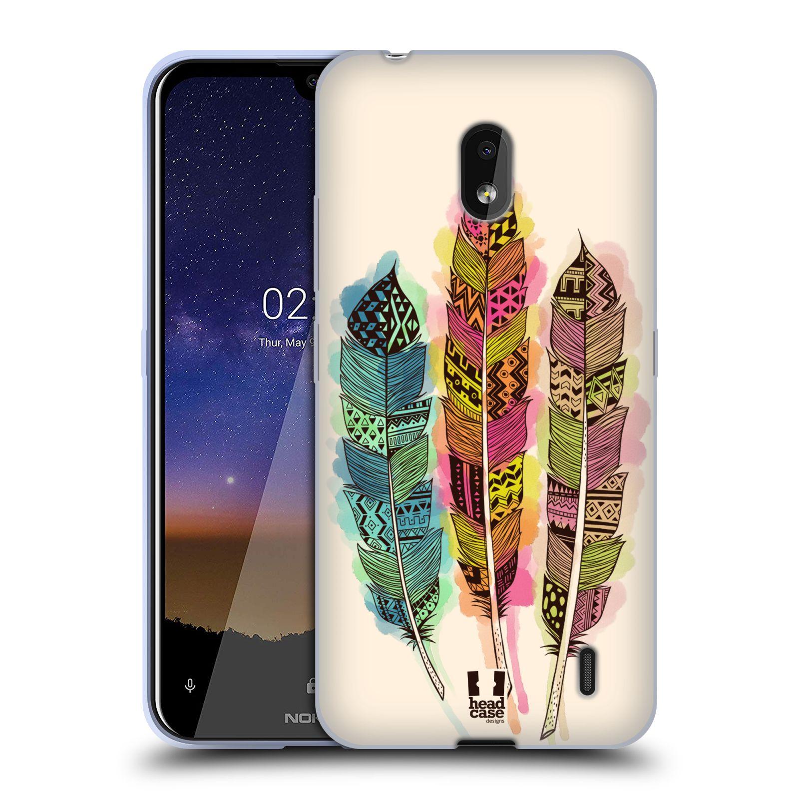 Silikonové pouzdro na mobil Nokia 2.2 - Head Case - AZTEC PÍRKA SPLASH