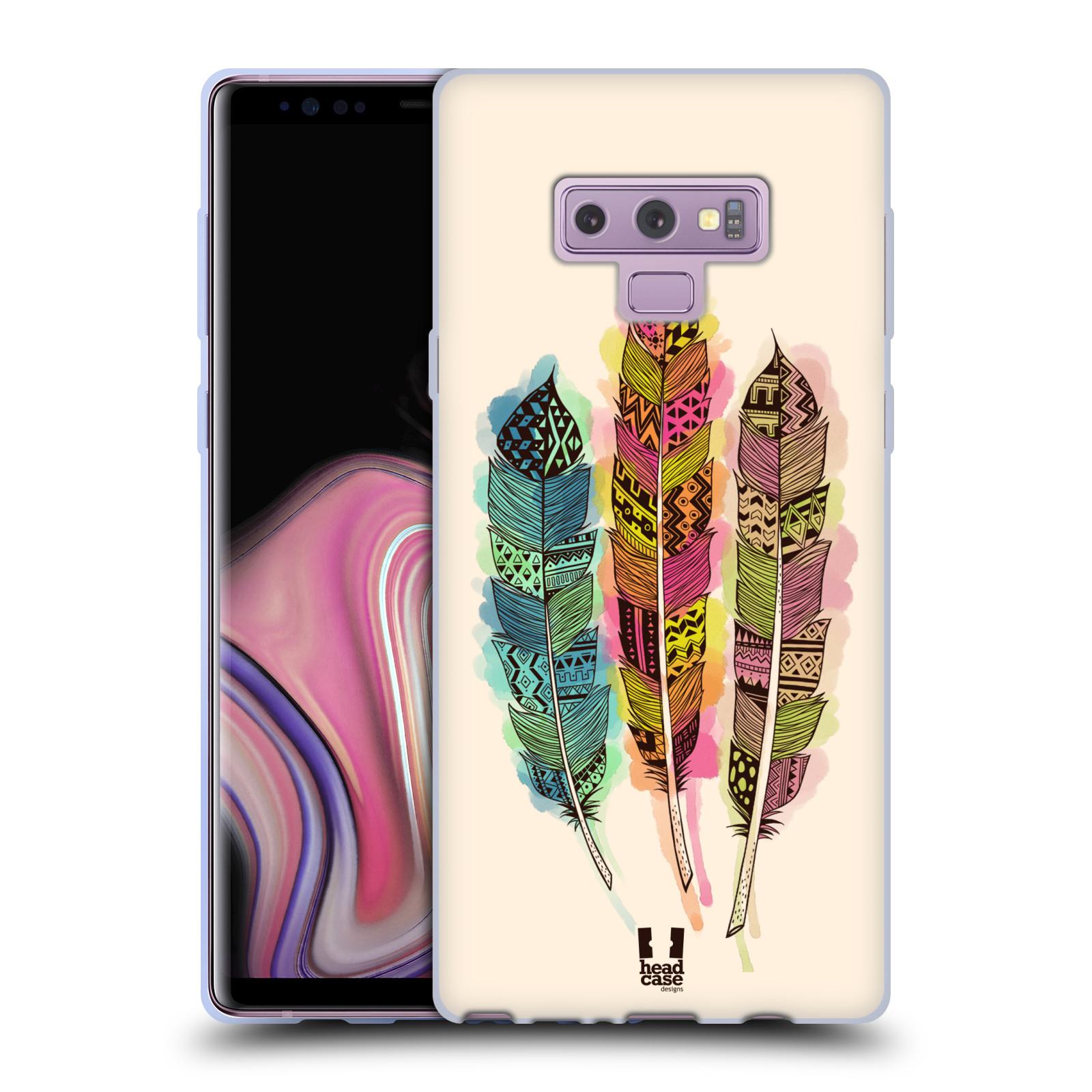 Silikonové pouzdro na mobil Samsung Galaxy Note 9 - Head Case - AZTEC PÍRKA SPLASH