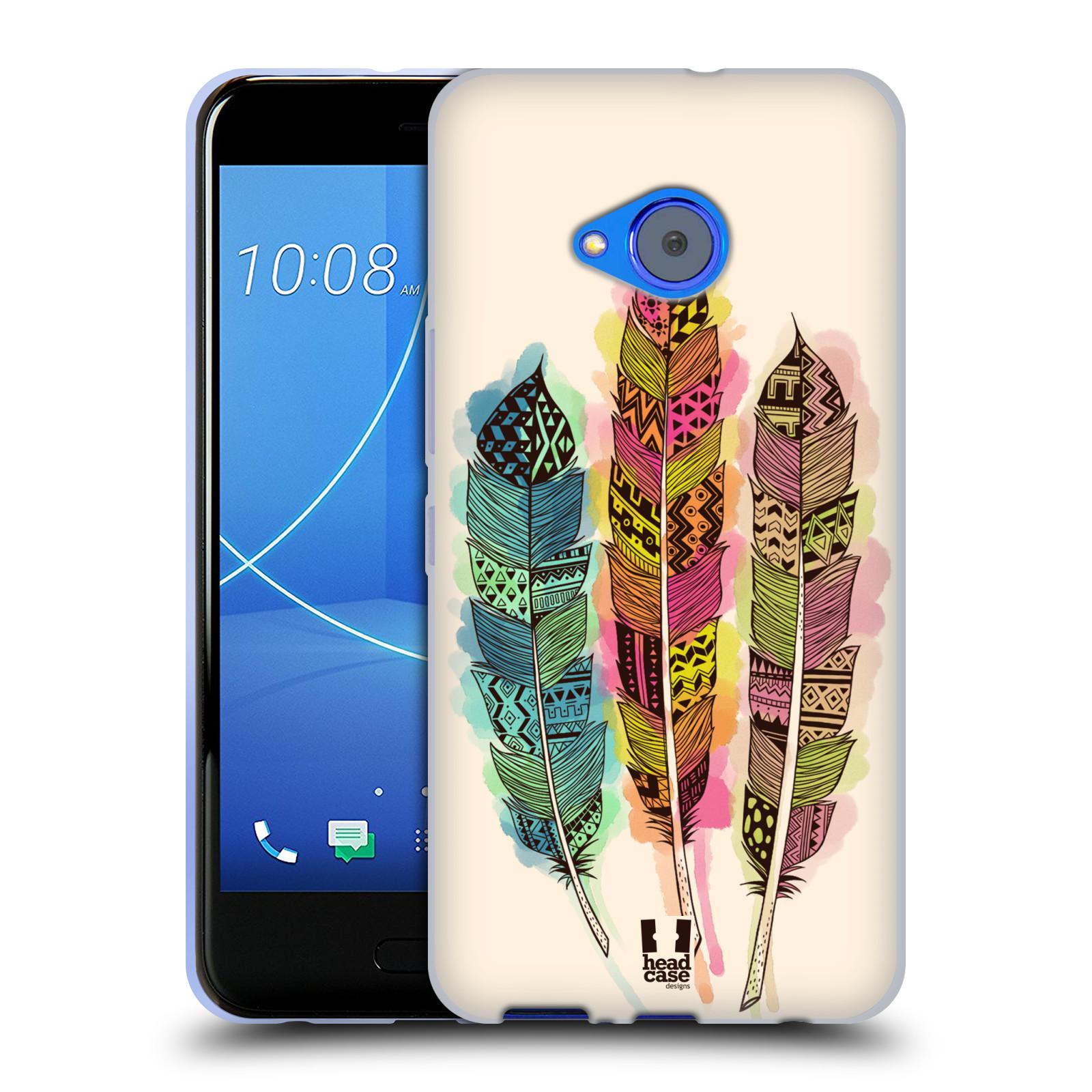 Silikonové pouzdro na mobil HTC U11 Life - Head Case - AZTEC PÍRKA SPLASH