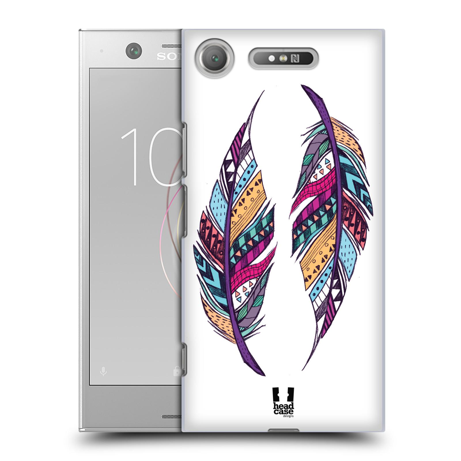 Plastové pouzdro na mobil Sony Xperia XZ1 - Head Case - AZTEC PÍRKA