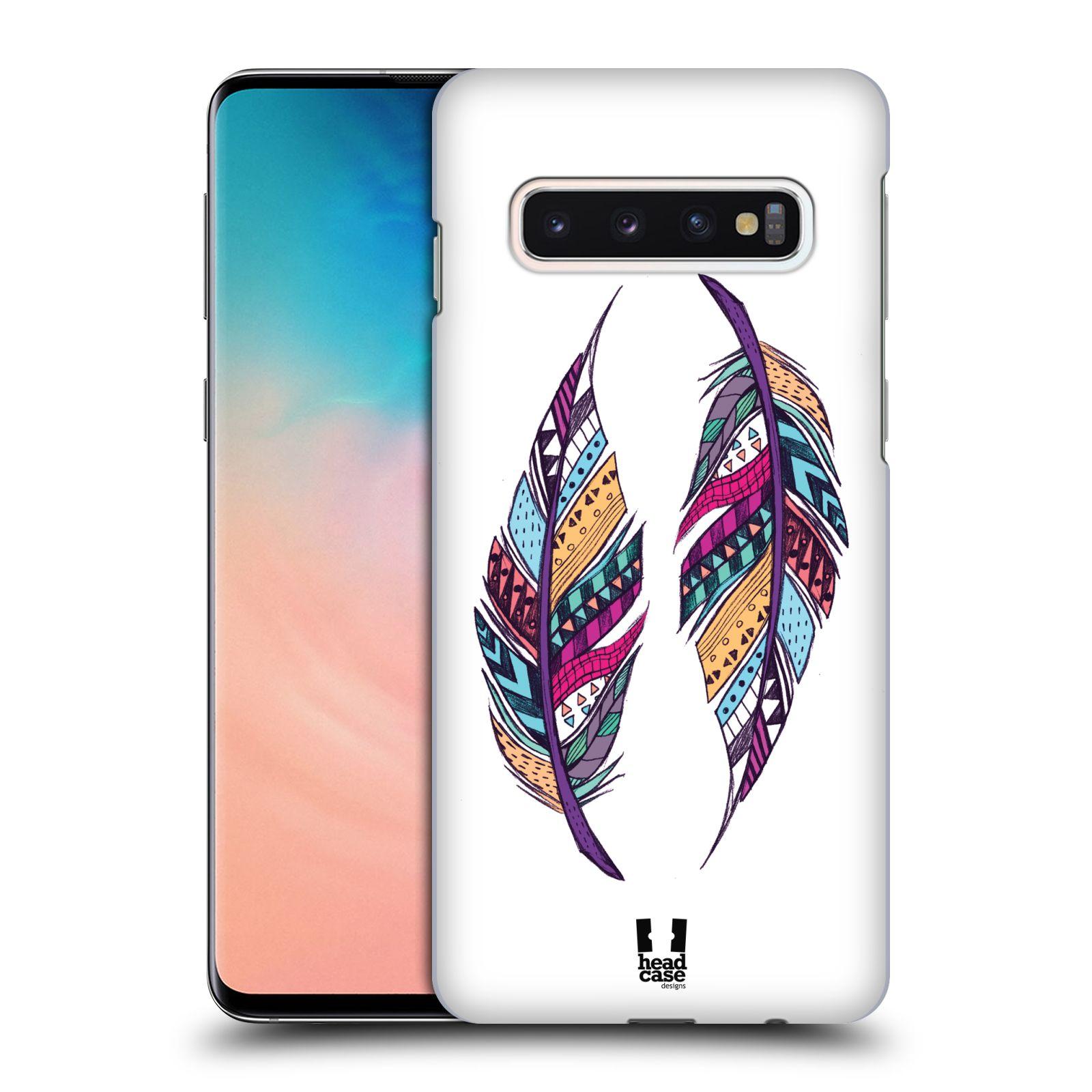 Plastové pouzdro na mobil Samsung Galaxy S10 - Head Case - AZTEC PÍRKA