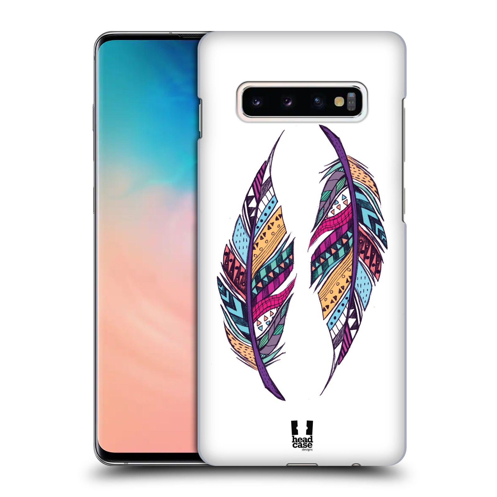 Plastové pouzdro na mobil Samsung Galaxy S10 Plus - Head Case - AZTEC PÍRKA