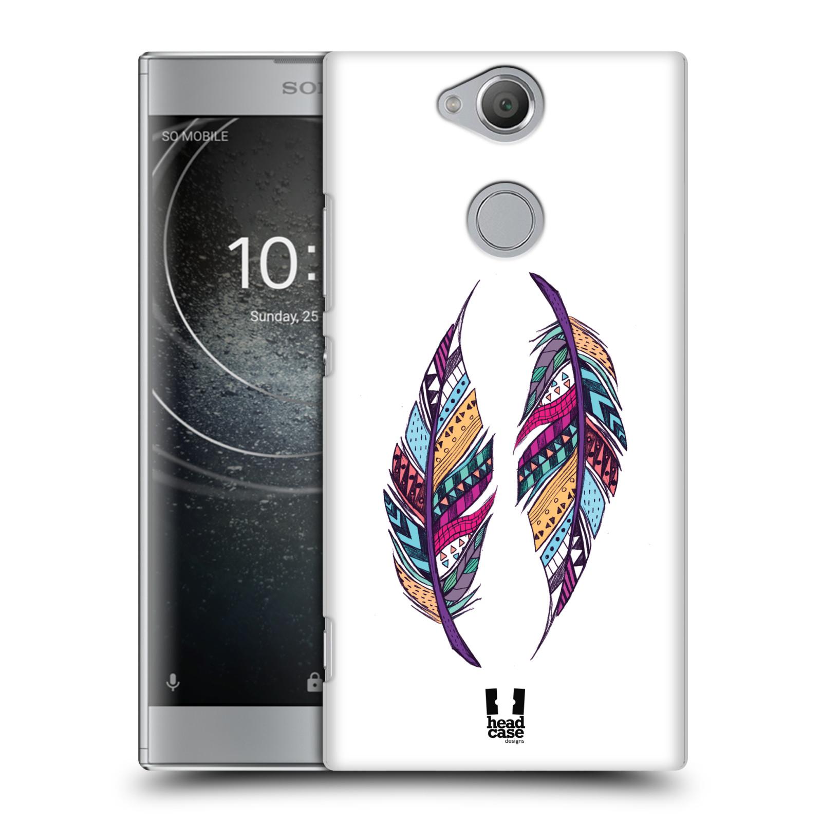 Plastové pouzdro na mobil Sony Xperia XA2 - Head Case - AZTEC PÍRKA