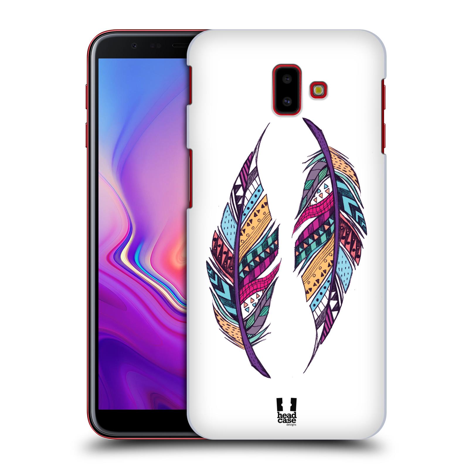 Plastové pouzdro na mobil Samsung Galaxy J6 Plus - Head Case - AZTEC PÍRKA