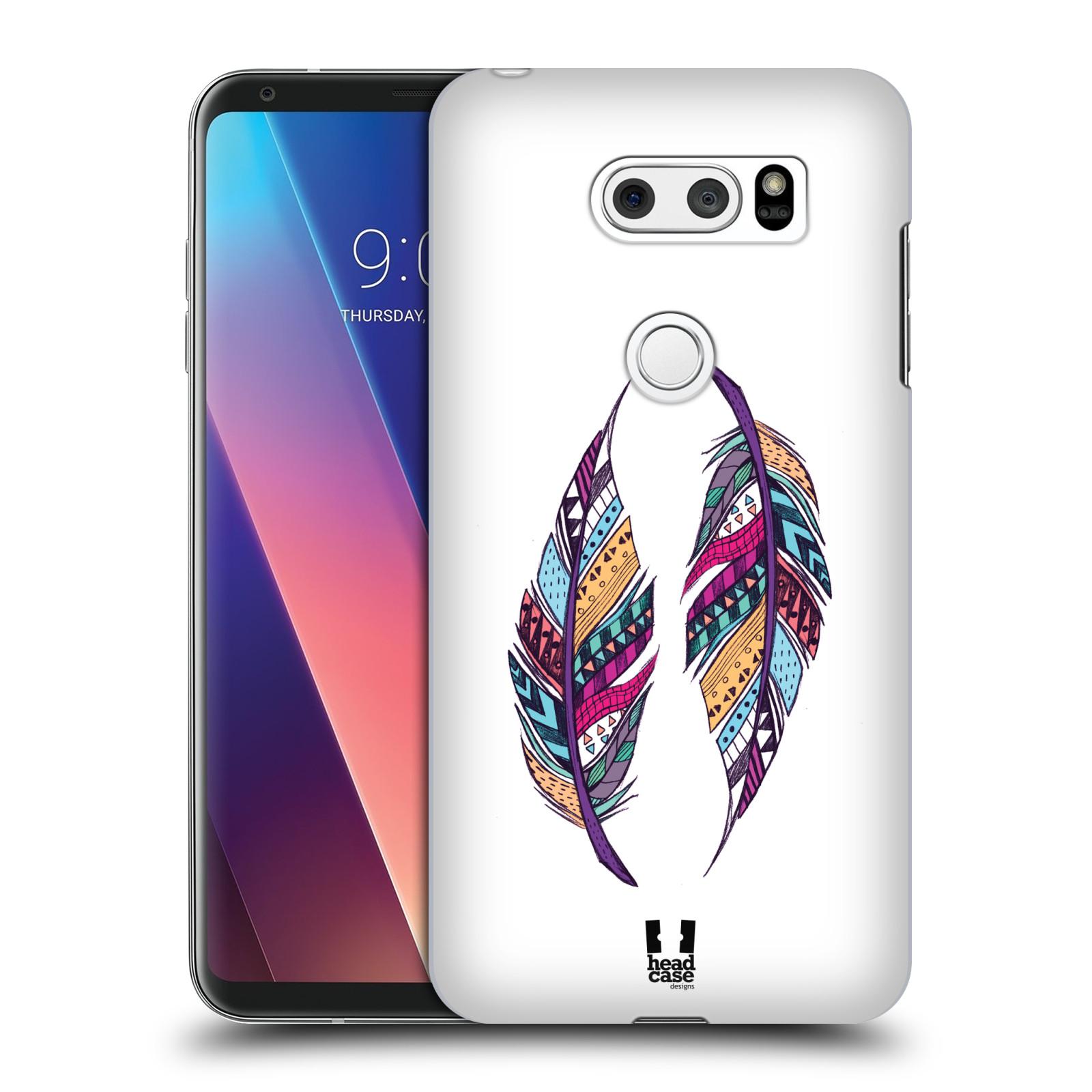 Plastové pouzdro na mobil LG V30 - Head Case - AZTEC PÍRKA