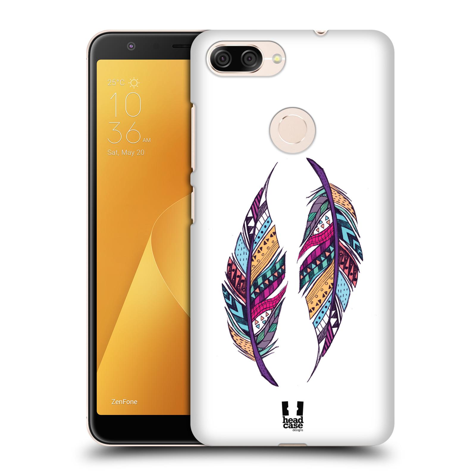 Plastové pouzdro na mobil Asus ZenFone Max Plus (M1) - Head Case - AZTEC PÍRKA