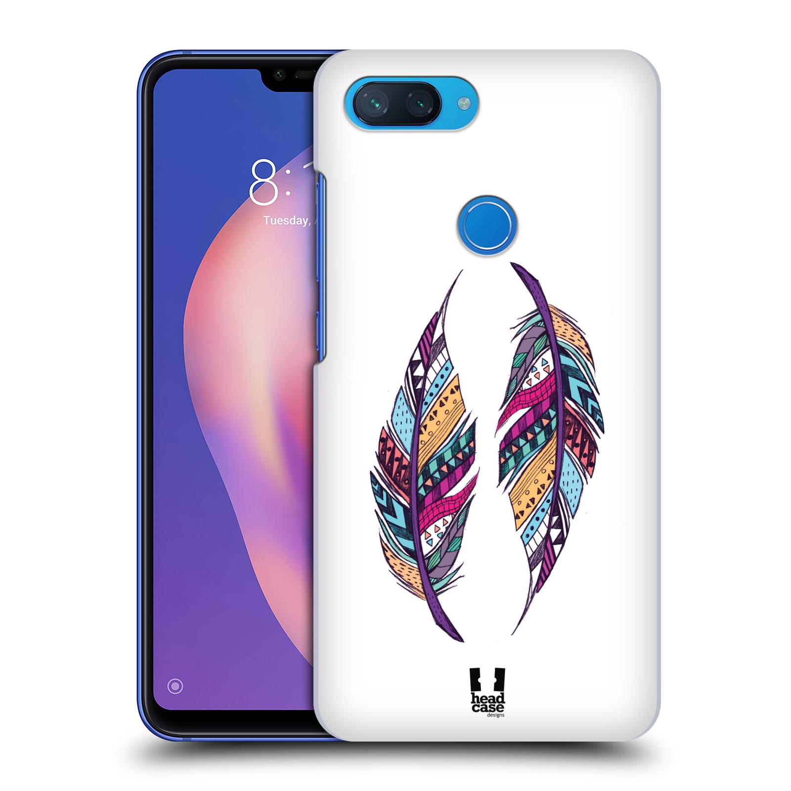 Plastové pouzdro na mobil Xiaomi Mi 8 Lite - Head Case - AZTEC PÍRKA