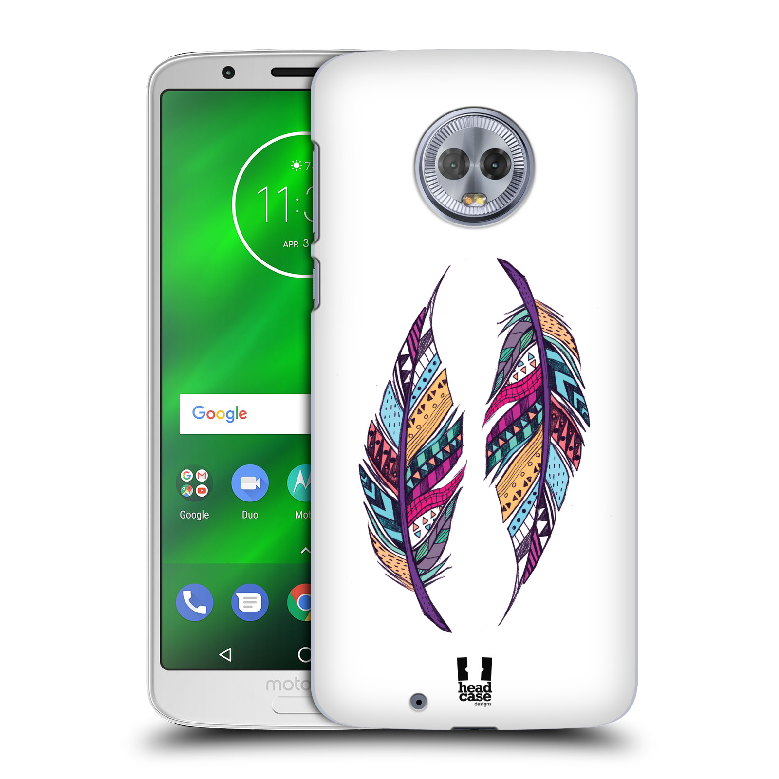 Plastové pouzdro na mobil Motorola Moto G6 - Head Case - AZTEC PÍRKA