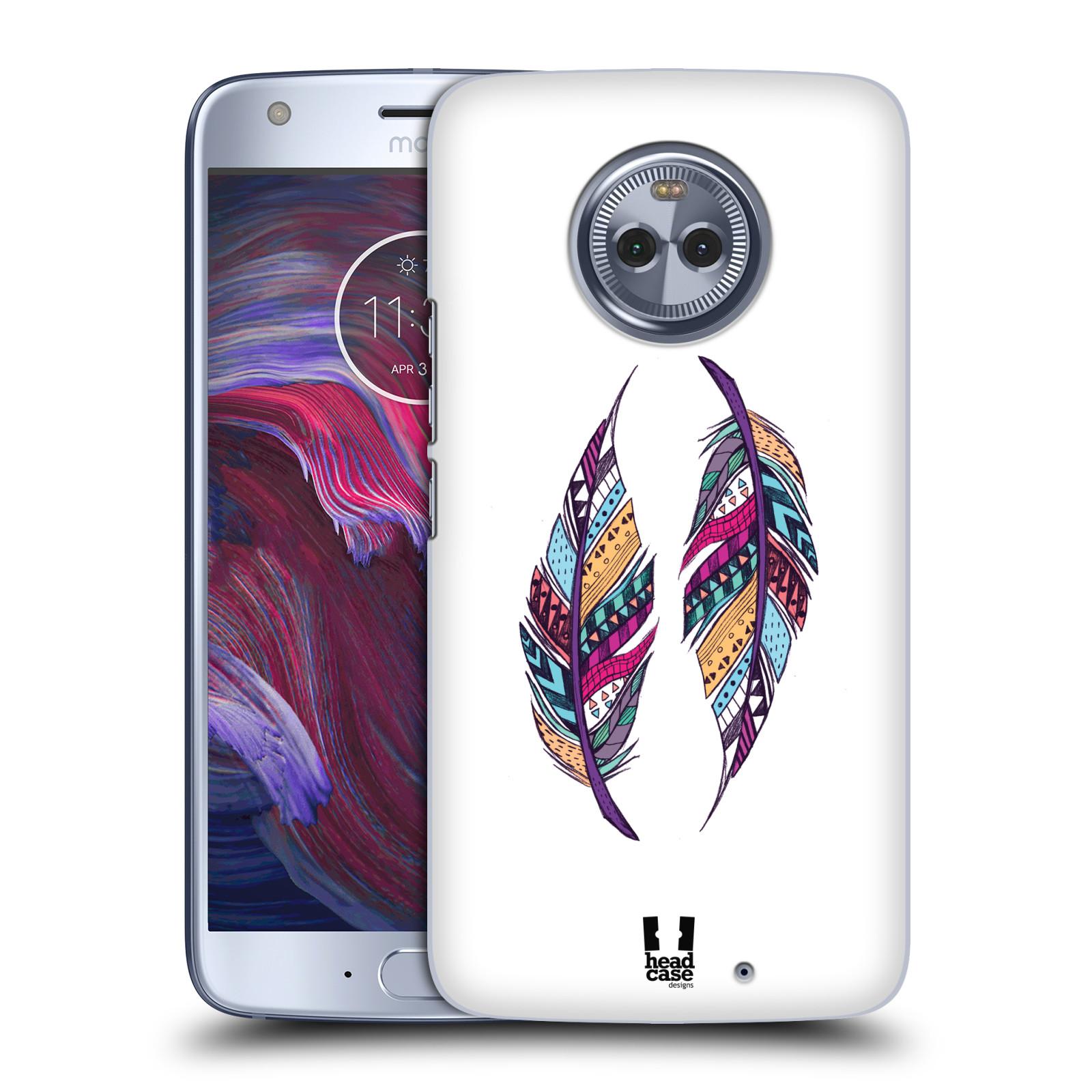 Plastové pouzdro na mobil Lenovo Moto X4 - Head Case - AZTEC PÍRKA