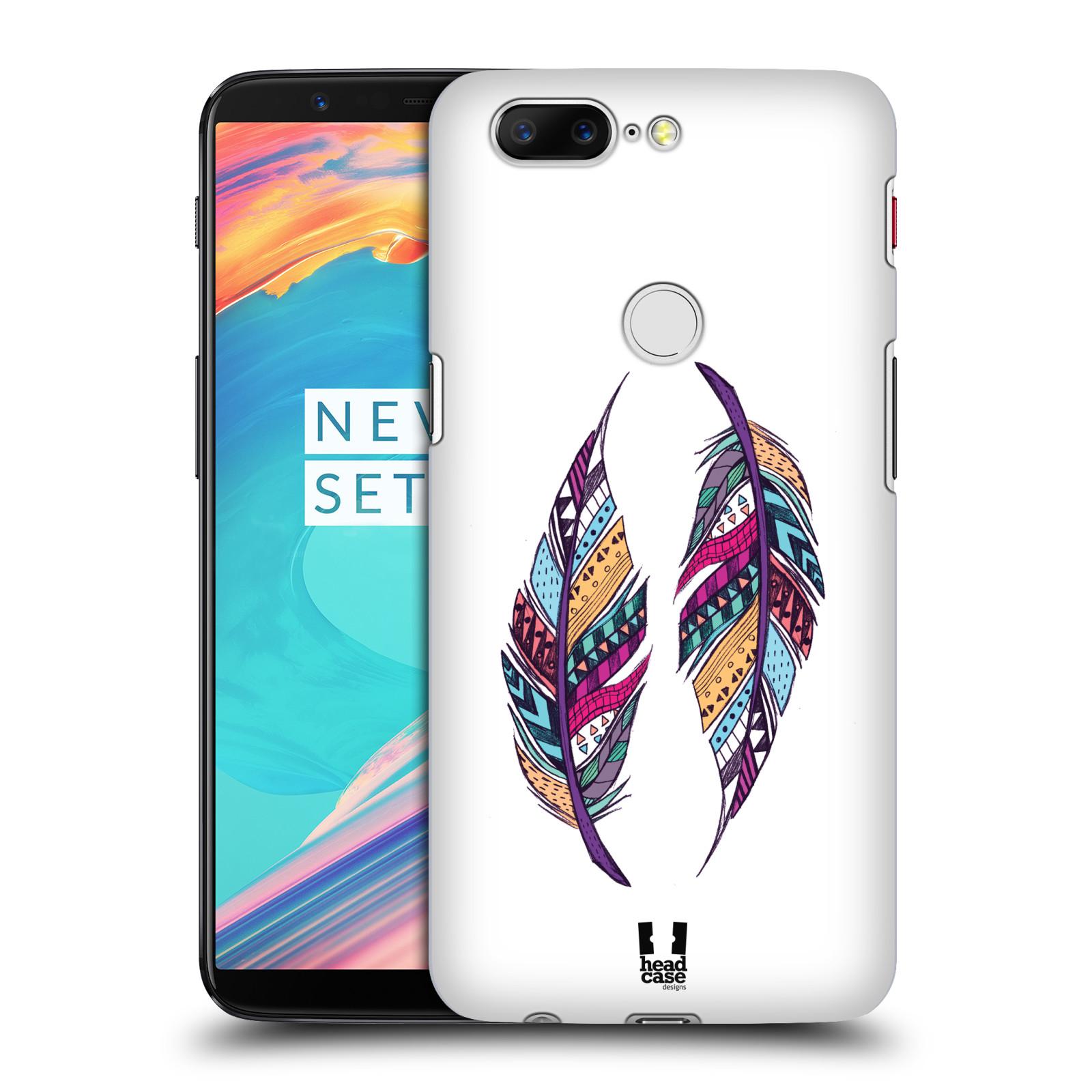 Plastové pouzdro na mobil OnePlus 5T - Head Case - AZTEC PÍRKA