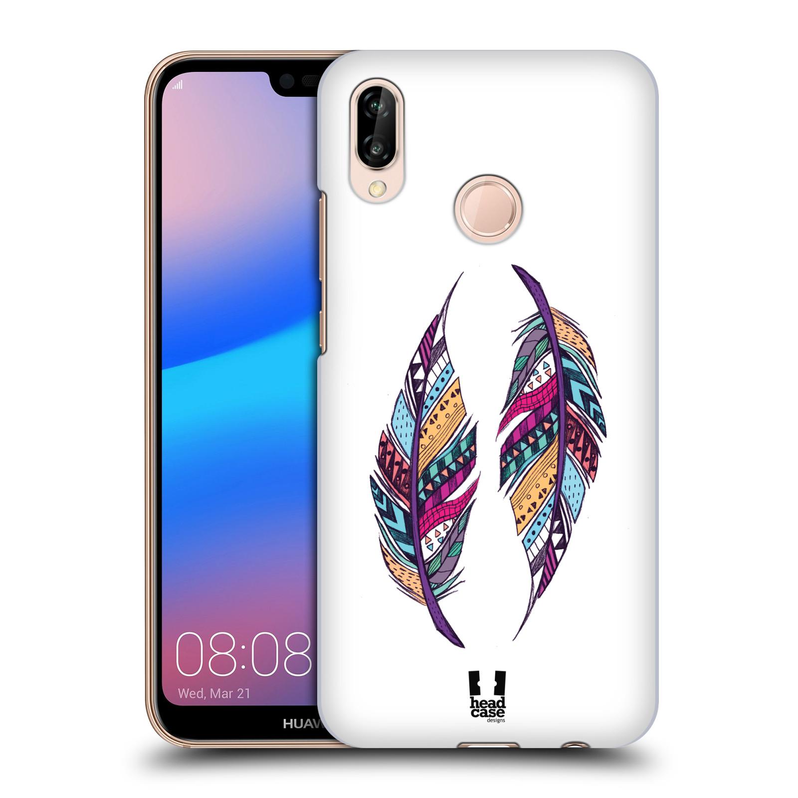 Plastové pouzdro na mobil Huawei P20 Lite - Head Case - AZTEC PÍRKA
