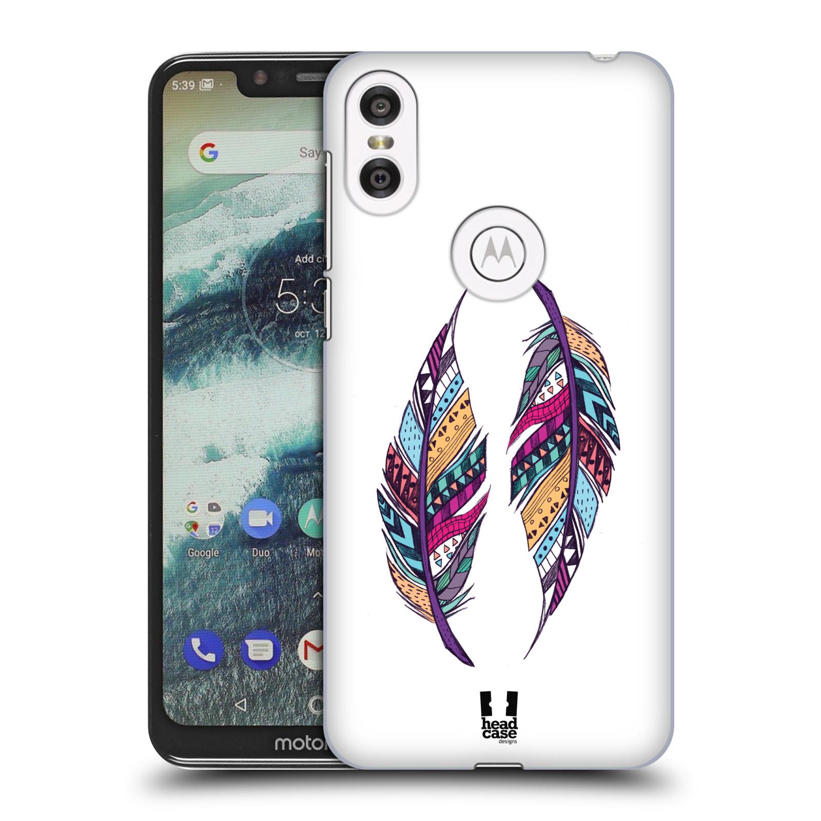 Plastové pouzdro na mobil Motorola One - Head Case - AZTEC PÍRKA