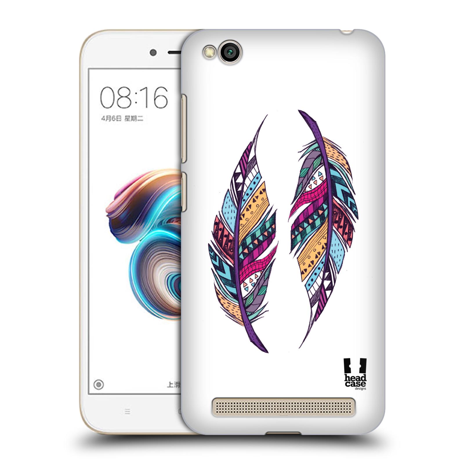 Plastové pouzdro na mobil Xiaomi Redmi 5A - Head Case - AZTEC PÍRKA