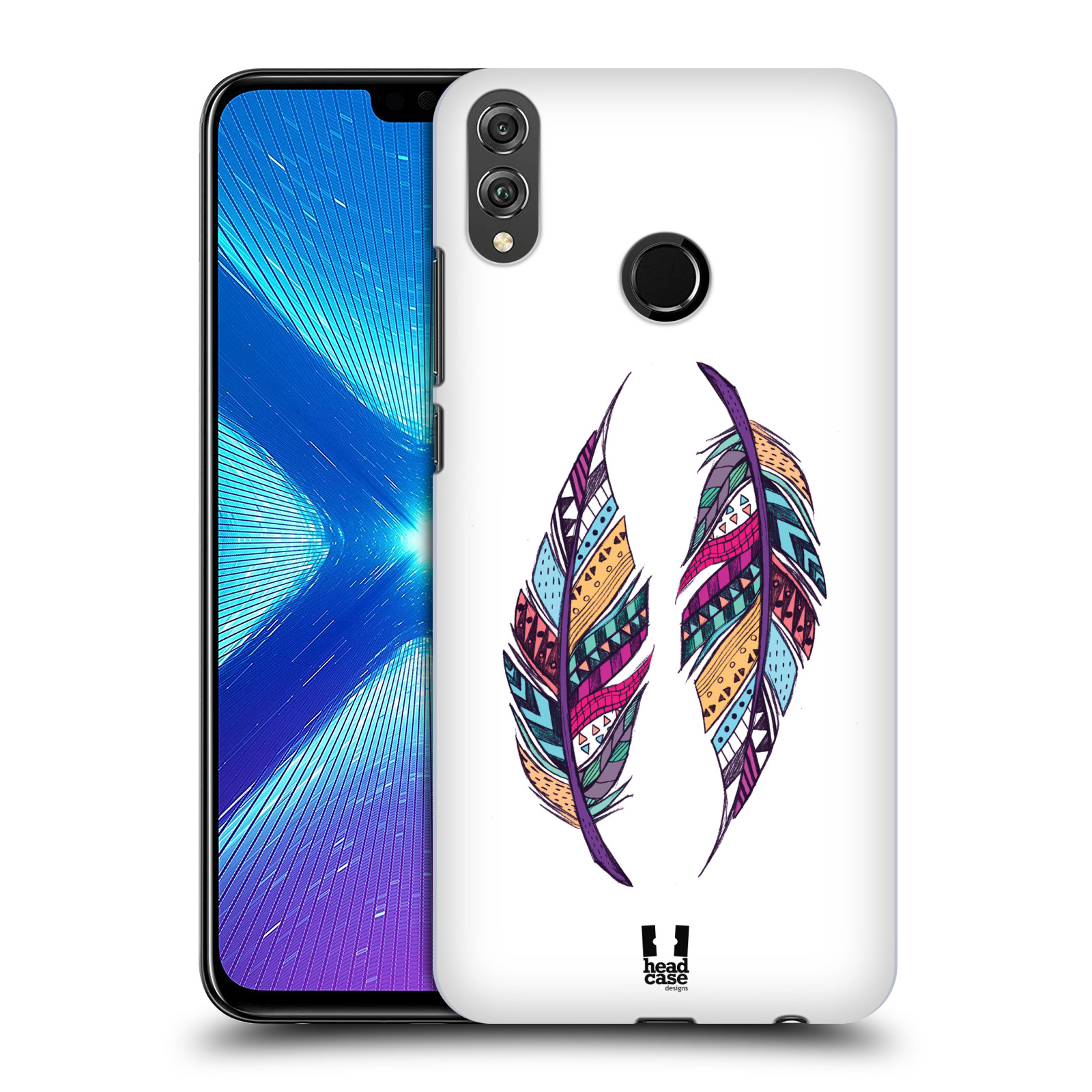 Plastové pouzdro na mobil Honor 8X - Head Case - AZTEC PÍRKA