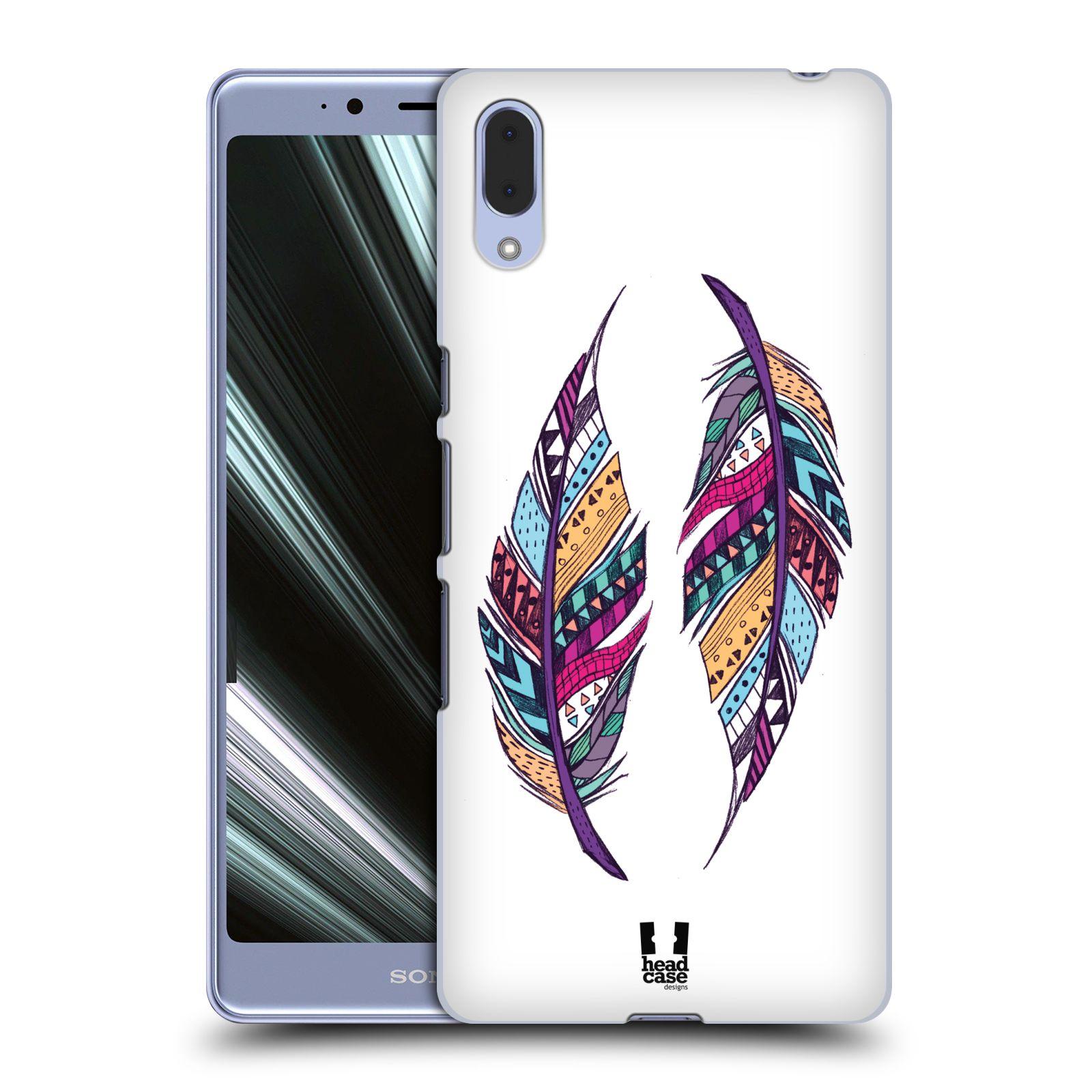 Plastové pouzdro na mobil Sony Xperia L3 - Head Case - AZTEC PÍRKA