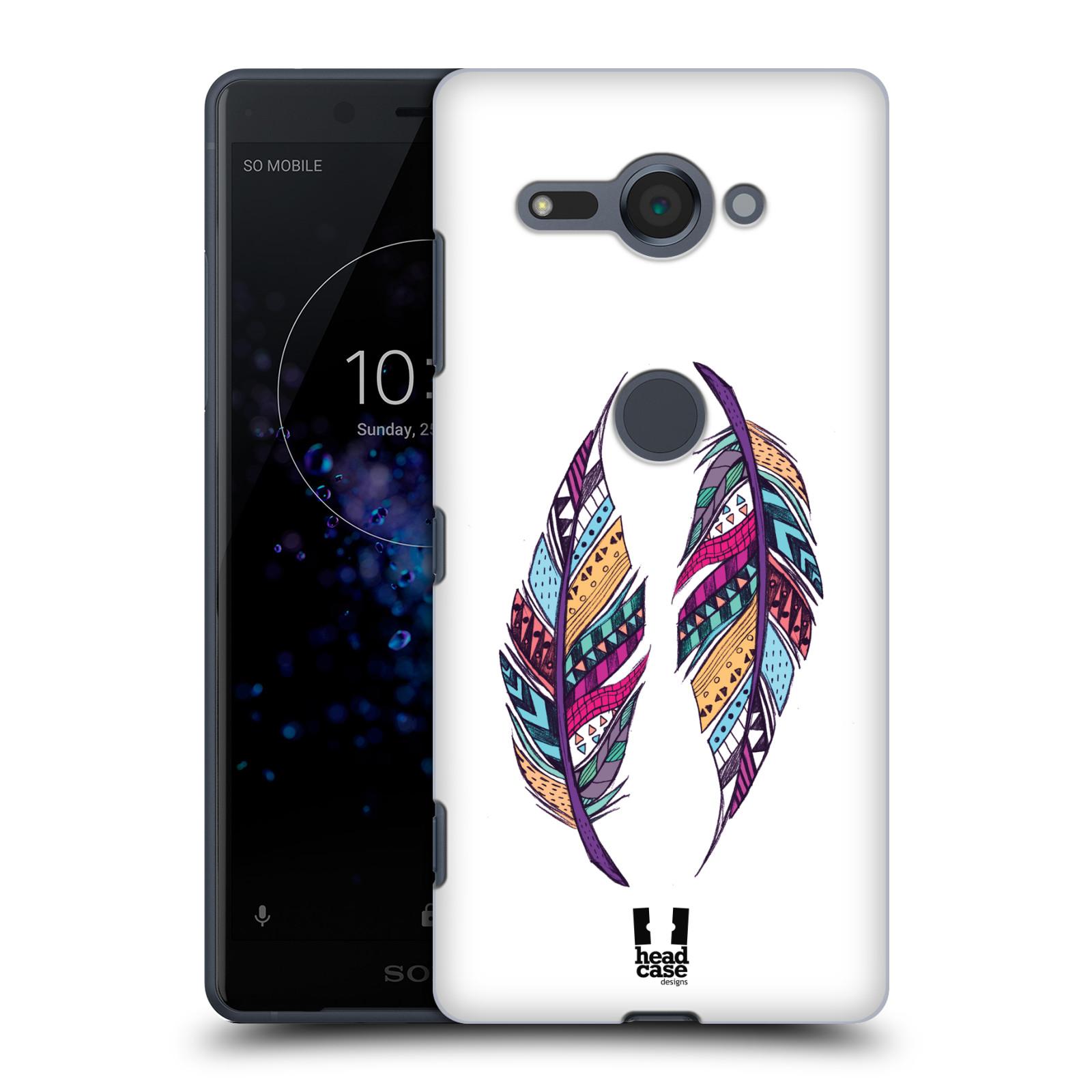 Plastové pouzdro na mobil Sony Xperia XZ2 Compact - Head Case - AZTEC PÍRKA