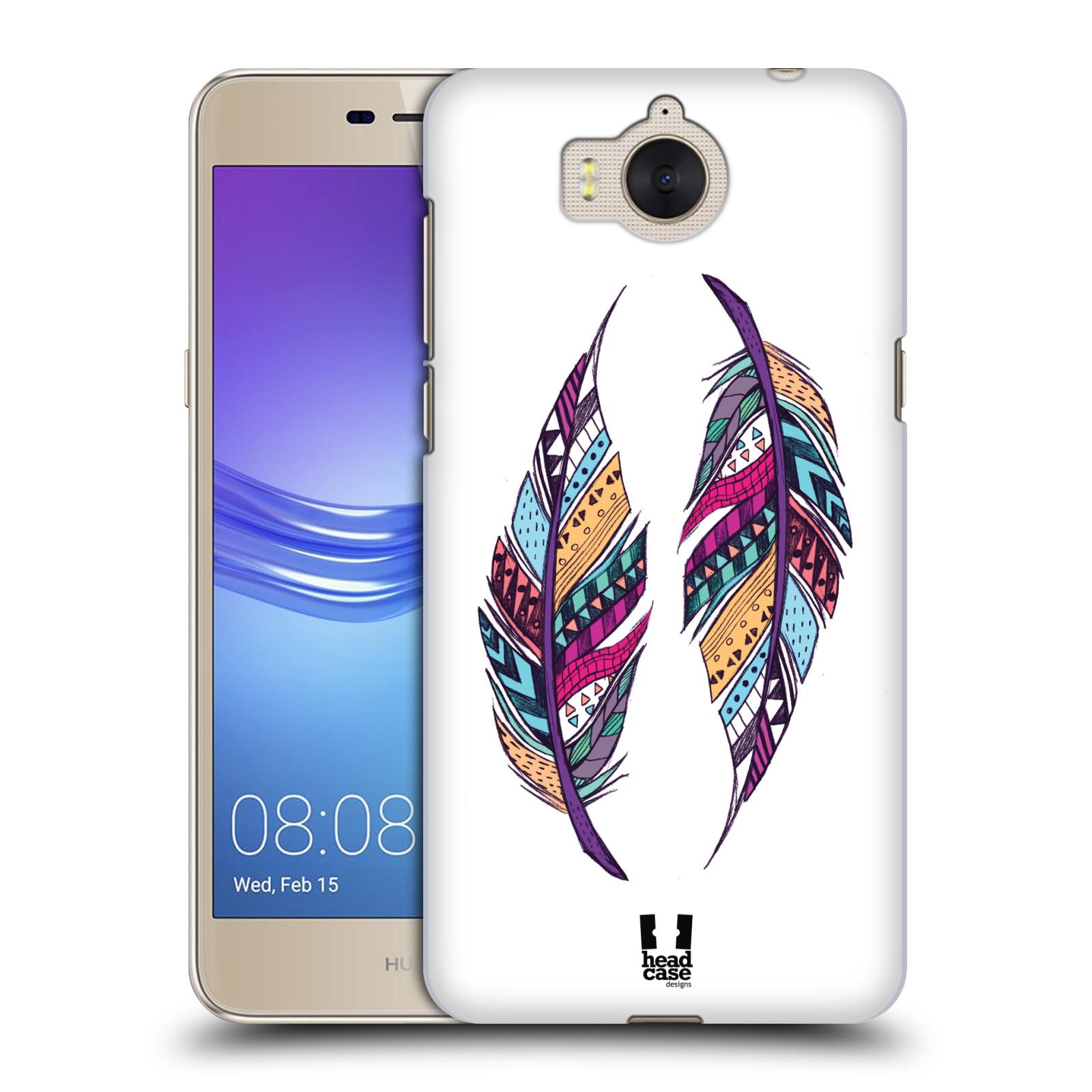 Plastové pouzdro na mobil Huawei Y6 2017 - Head Case - AZTEC PÍRKA