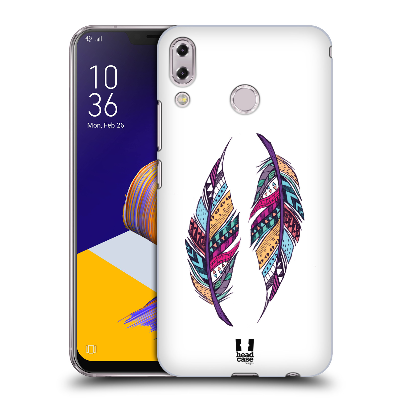 Plastové pouzdro na mobil Asus Zenfone 5z ZS620KL - Head Case - AZTEC PÍRKA