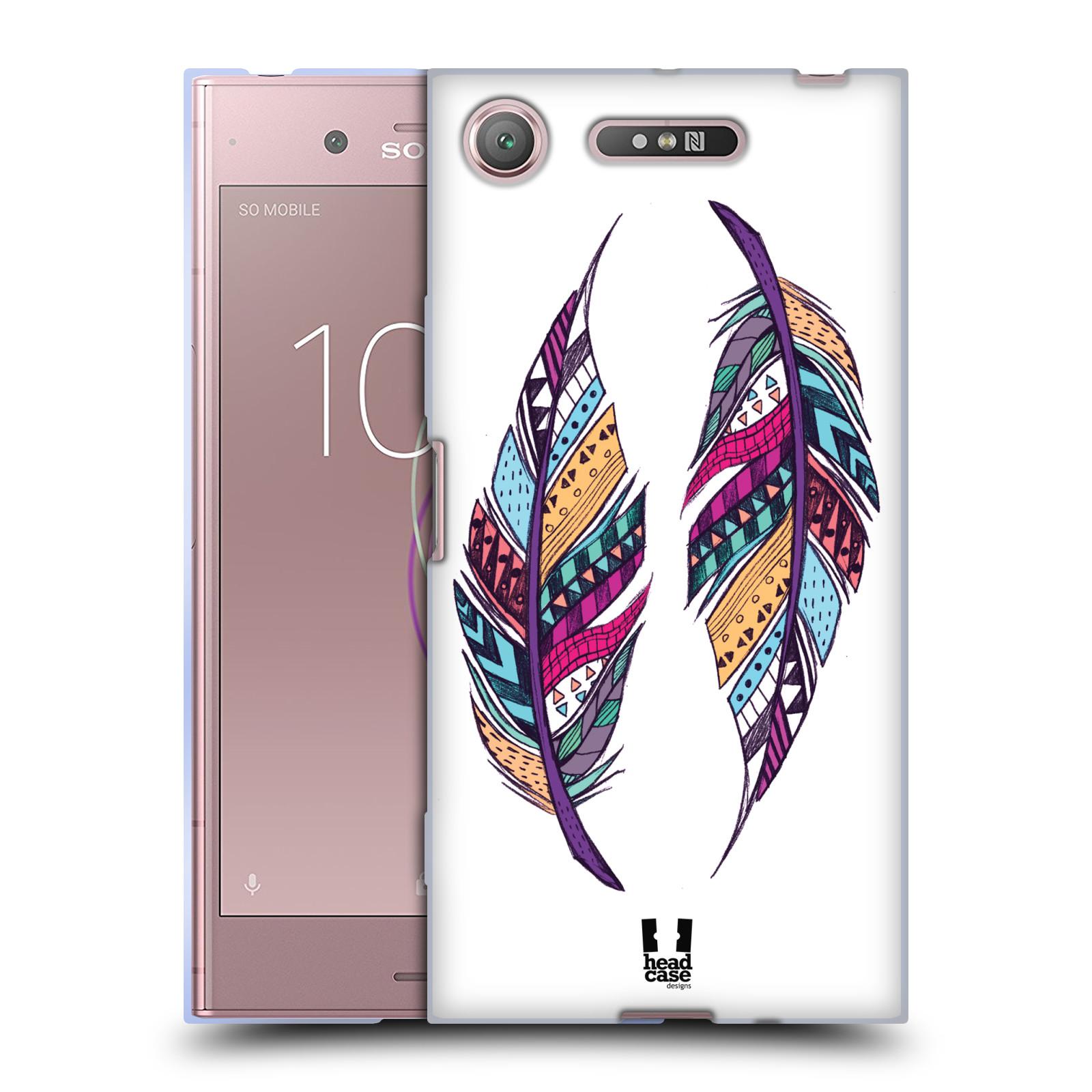 Silikonové pouzdro na mobil Sony Xperia XZ1 - Head Case - AZTEC PÍRKA