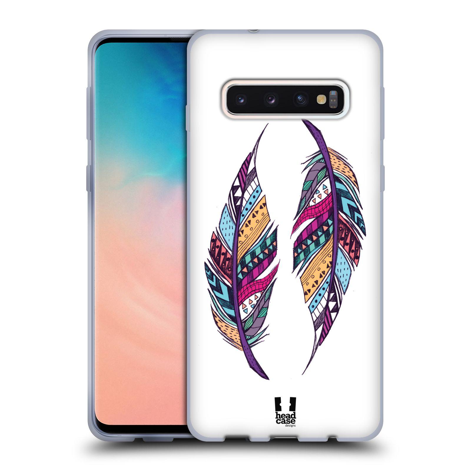 Silikonové pouzdro na mobil Samsung Galaxy S10 - Head Case - AZTEC PÍRKA