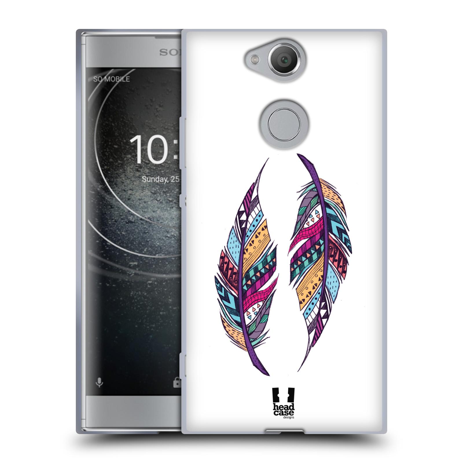 Silikonové pouzdro na mobil Sony Xperia XA2 - Head Case - AZTEC PÍRKA