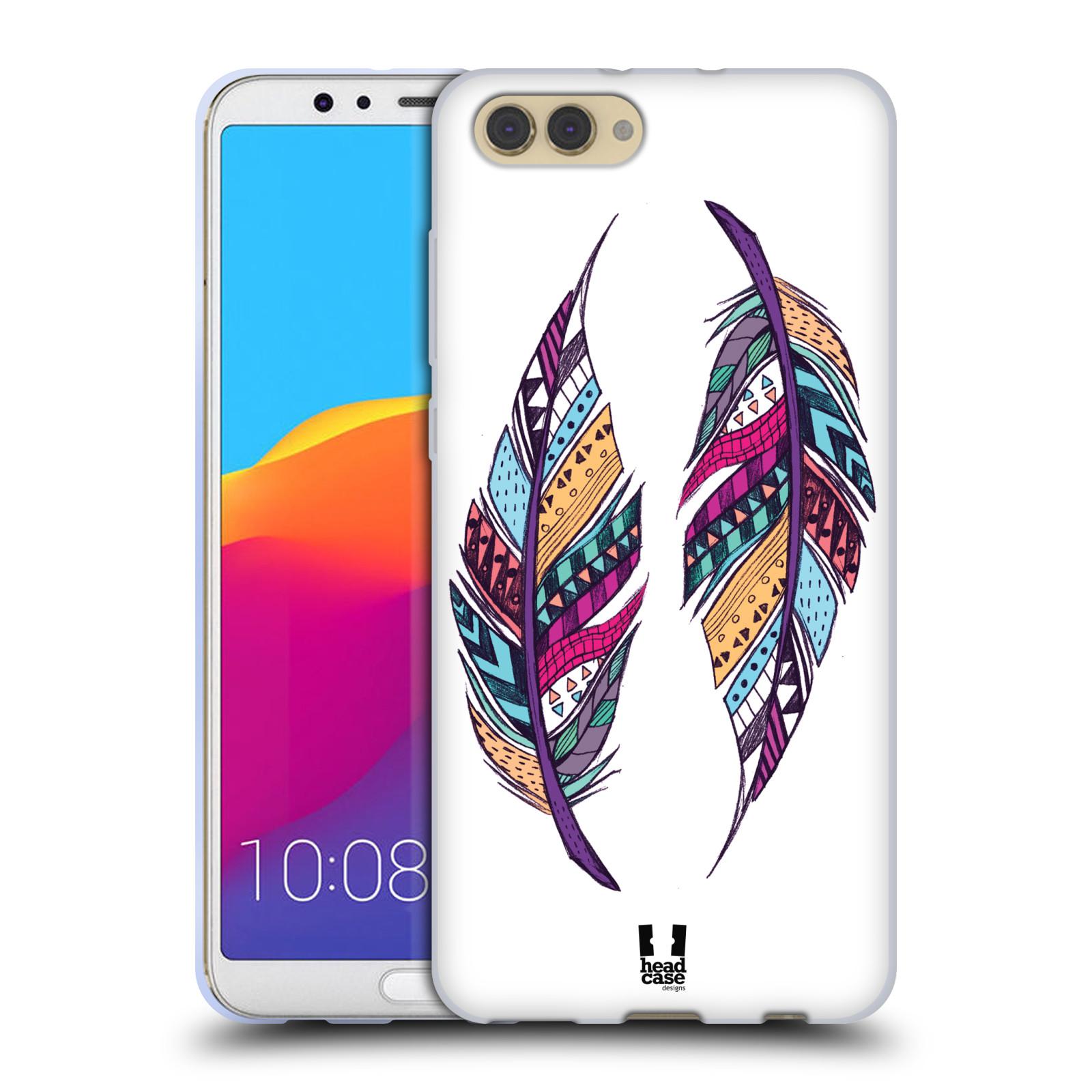 Silikonové pouzdro na mobil Honor View 10 - Head Case - AZTEC PÍRKA