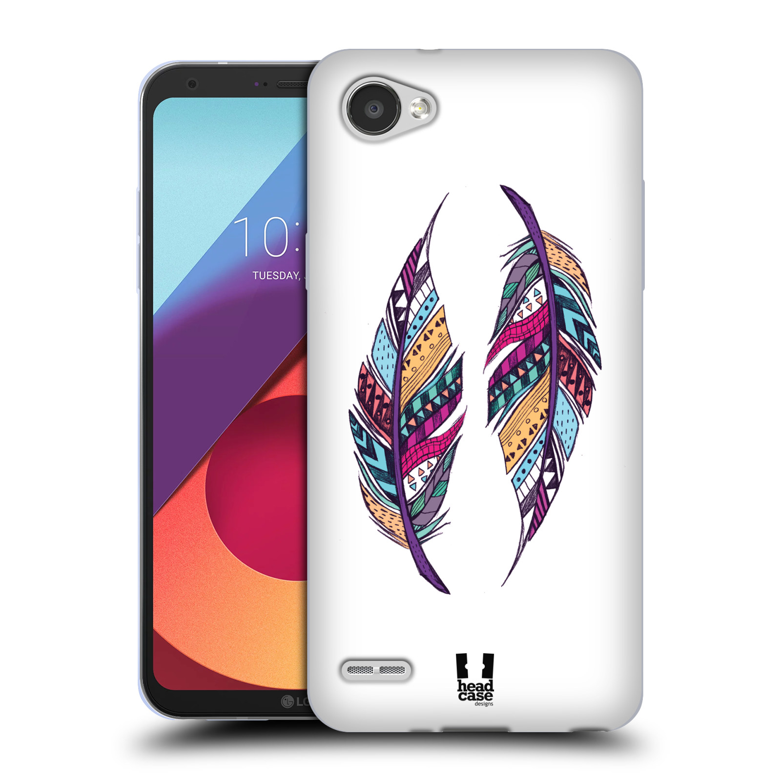 Silikonové pouzdro na mobil LG Q6 - Head Case - AZTEC PÍRKA
