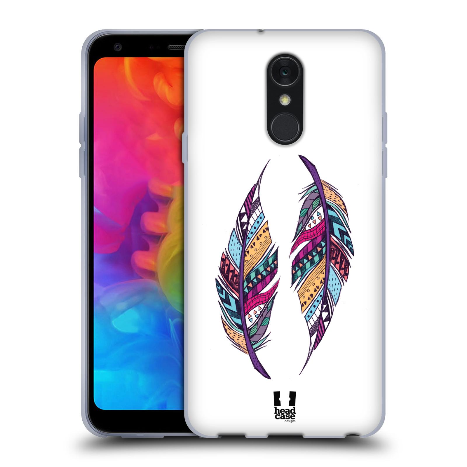 Silikonové pouzdro na mobil LG Q7 - Head Case - AZTEC PÍRKA