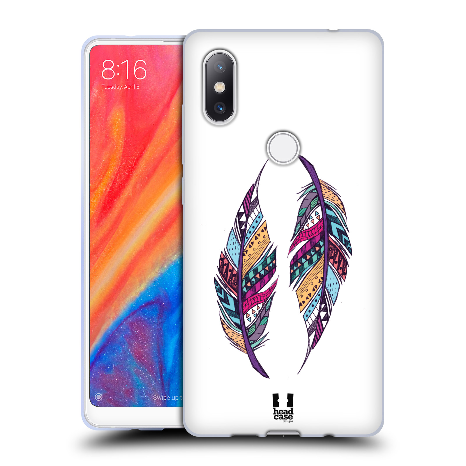 Silikonové pouzdro na mobil Xiaomi Mi Mix 2S - Head Case - AZTEC PÍRKA