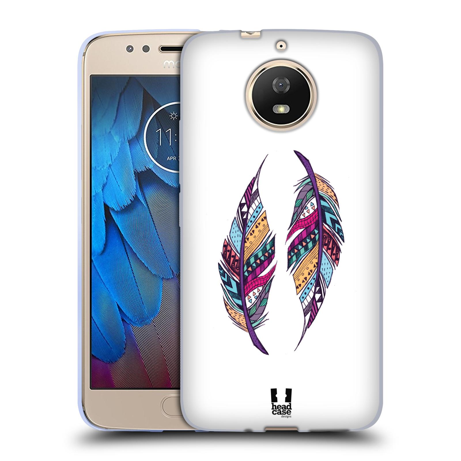 Silikonové pouzdro na mobil Lenovo Moto G5s - Head Case - AZTEC PÍRKA