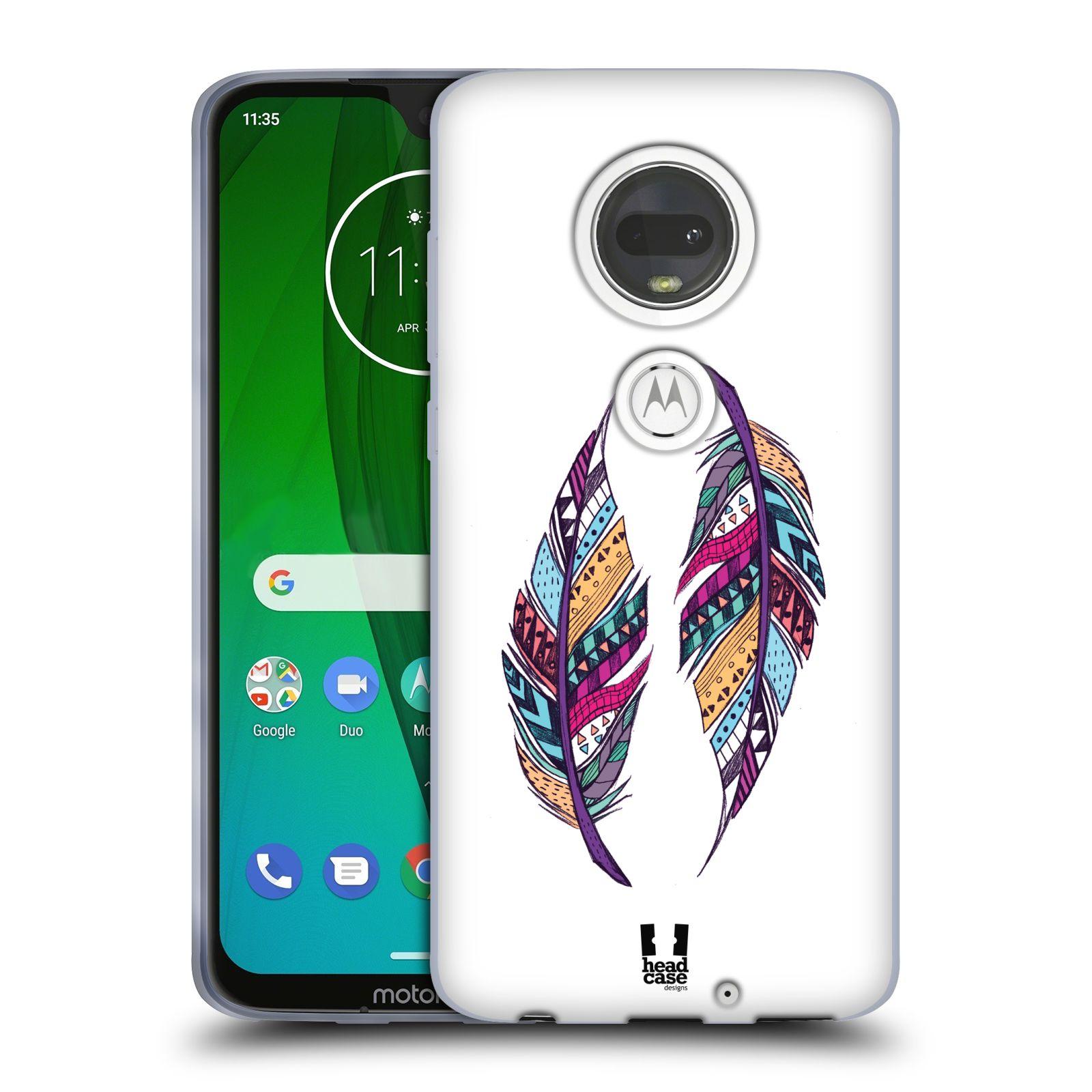 Silikonové pouzdro na mobil Motorola Moto G7 - Head Case - AZTEC PÍRKA