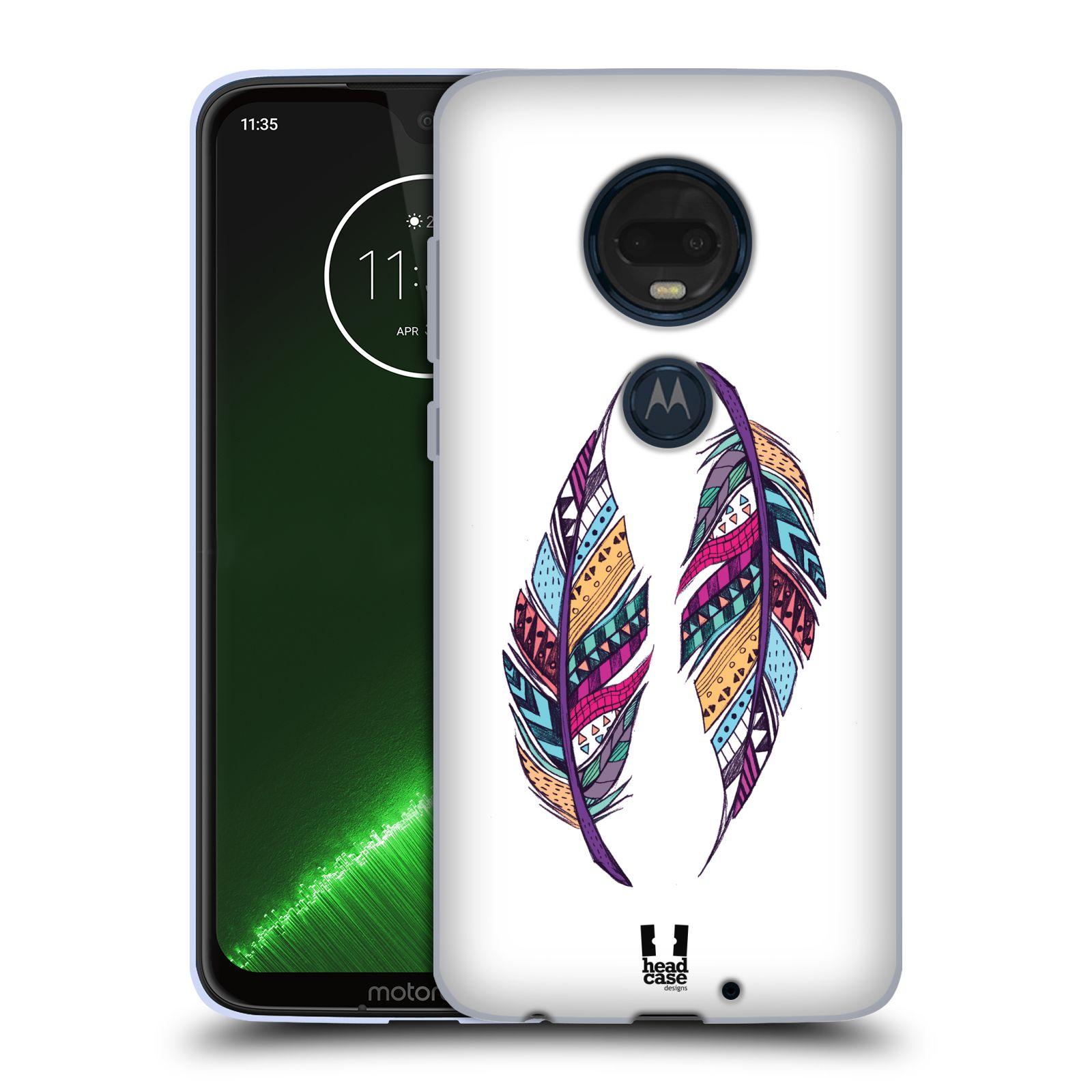 Silikonové pouzdro na mobil Motorola Moto G7 Plus - Head Case - AZTEC PÍRKA