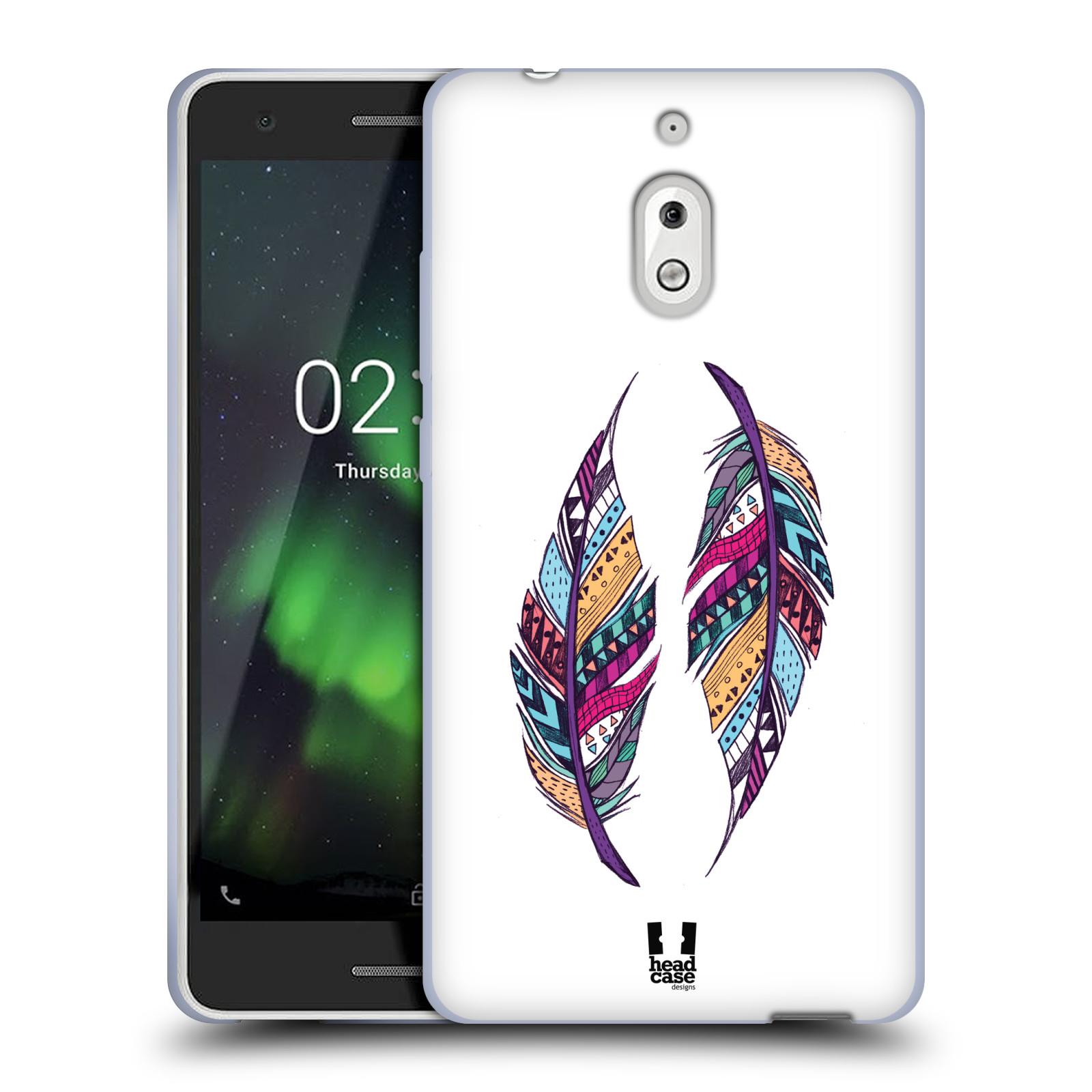 Silikonové pouzdro na mobil Nokia 2.1 - Head Case - AZTEC PÍRKA
