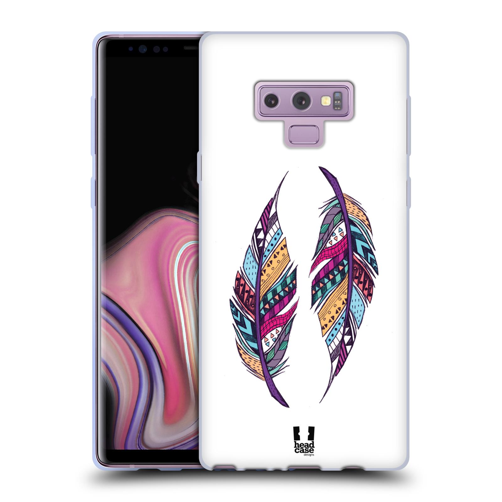 Silikonové pouzdro na mobil Samsung Galaxy Note 9 - Head Case - AZTEC PÍRKA