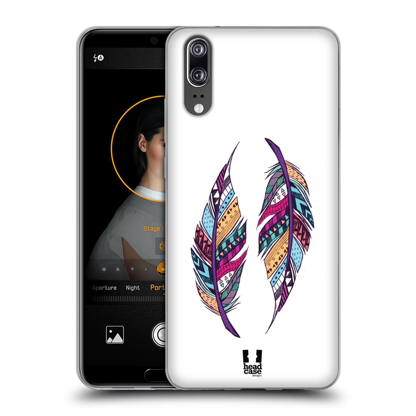 Silikonové pouzdro na mobil Huawei P20 - Head Case - AZTEC PÍRKA
