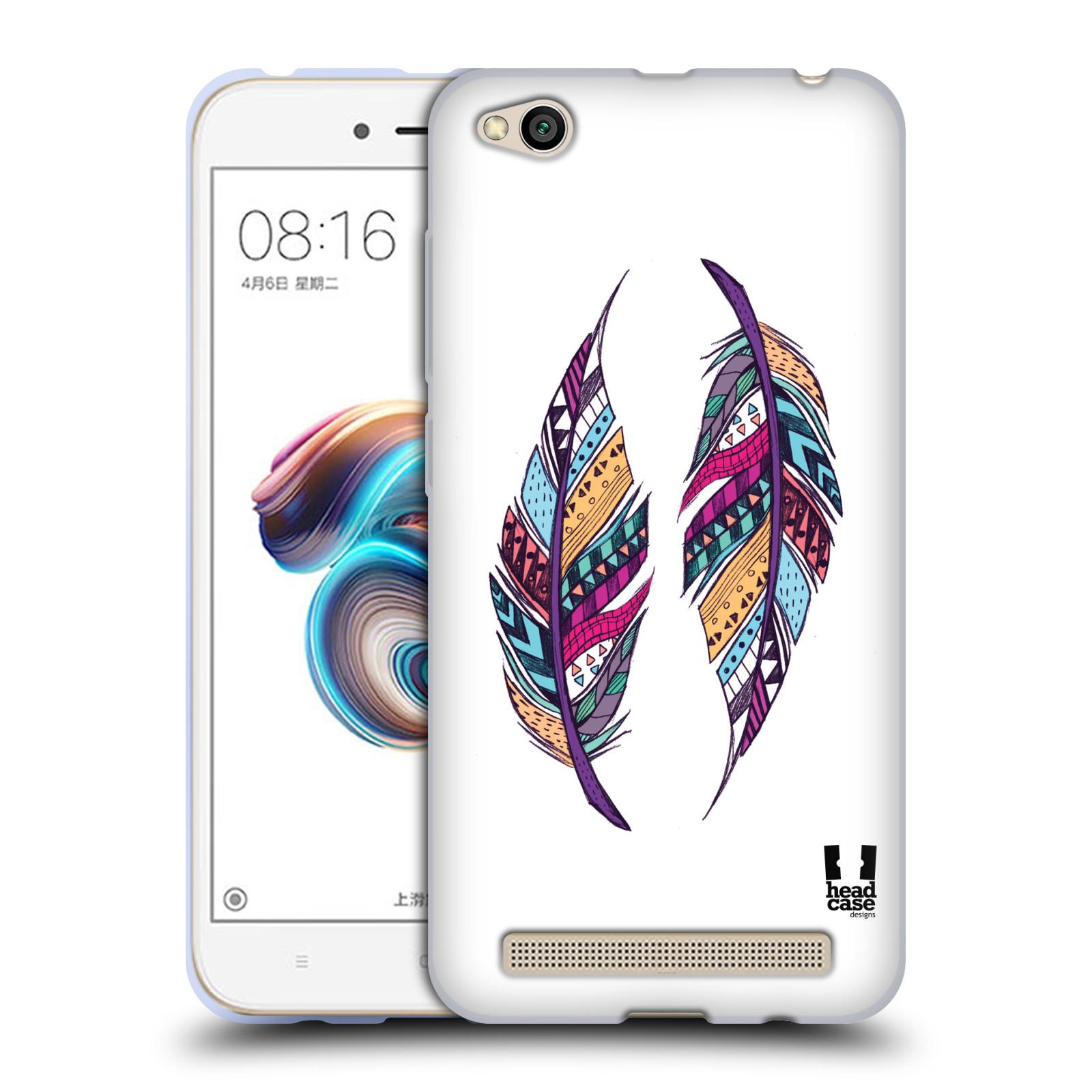 Silikonové pouzdro na mobil Xiaomi Redmi 5A - Head Case - AZTEC PÍRKA
