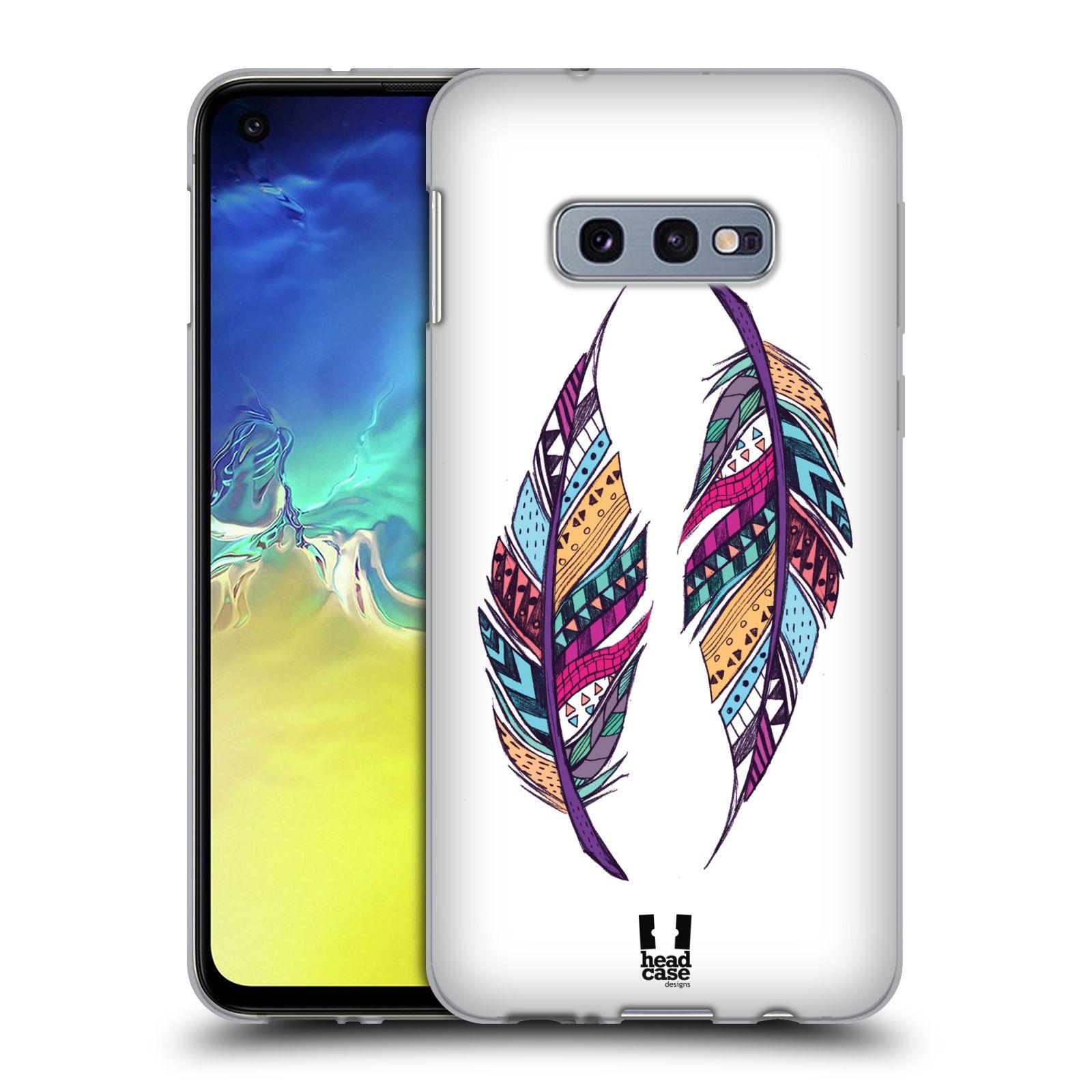 Silikonové pouzdro na mobil Samsung Galaxy S10e - Head Case - AZTEC PÍRKA