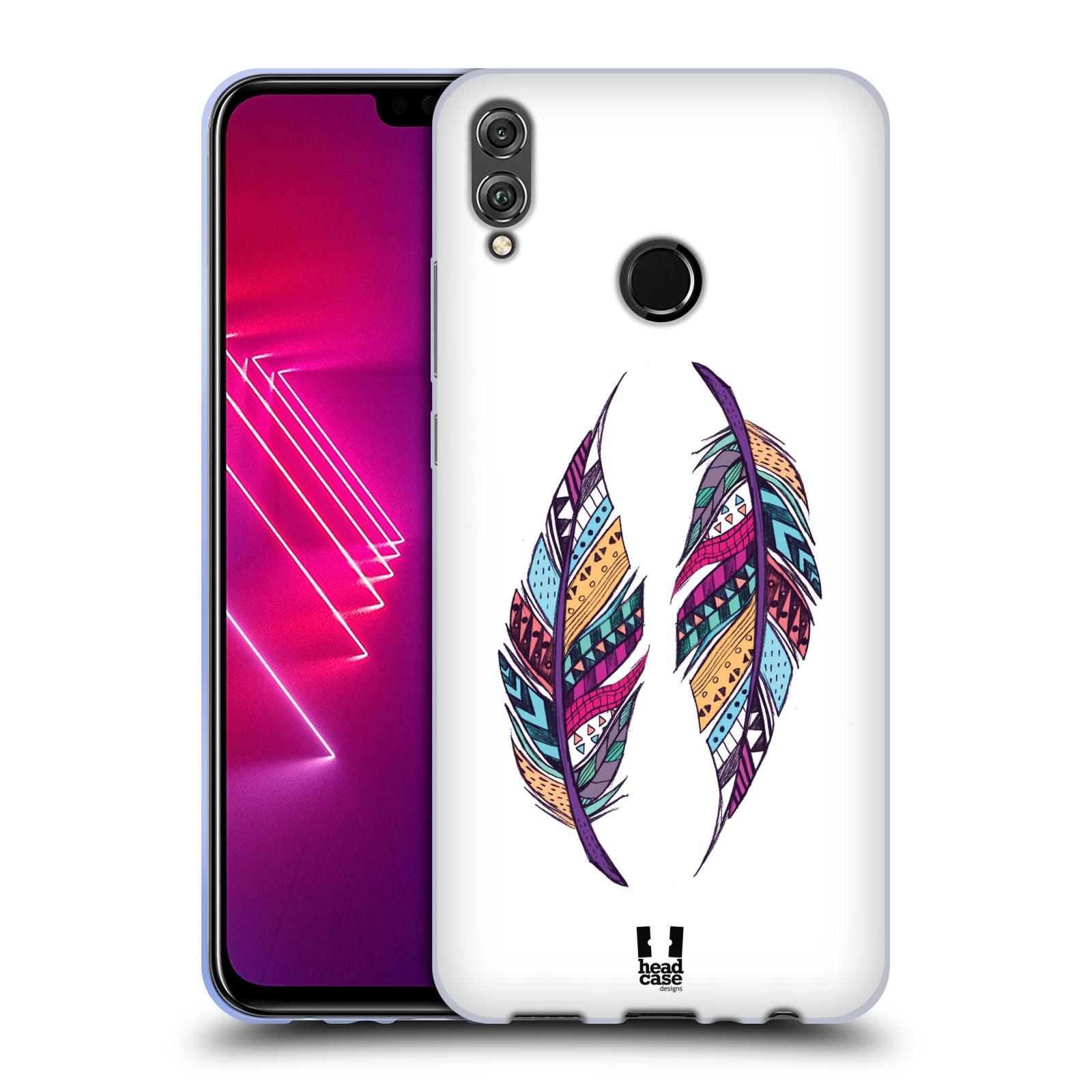 Silikonové pouzdro na mobil Honor 8X - Head Case - AZTEC PÍRKA