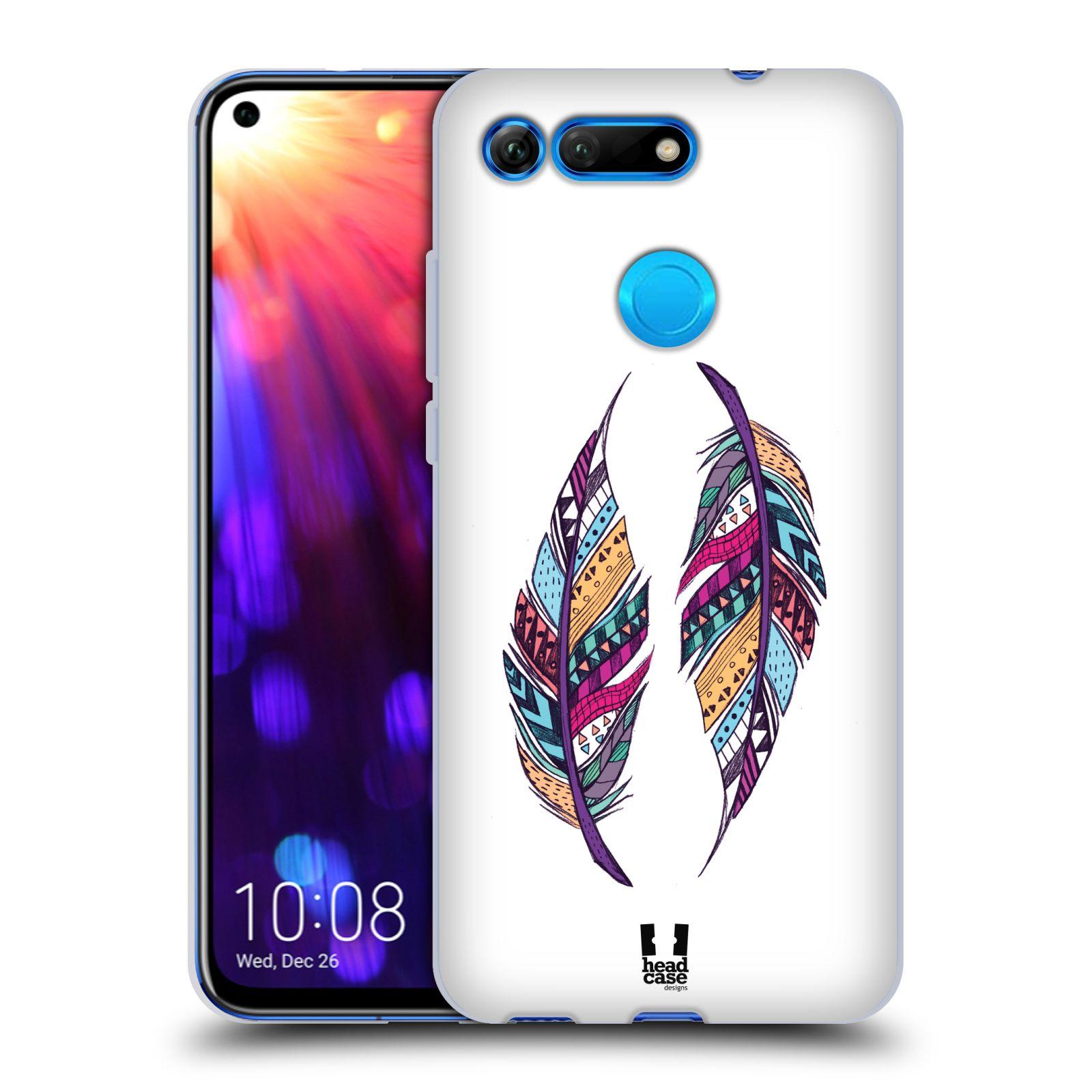 Silikonové pouzdro na mobil Honor View 20 - Head Case - AZTEC PÍRKA