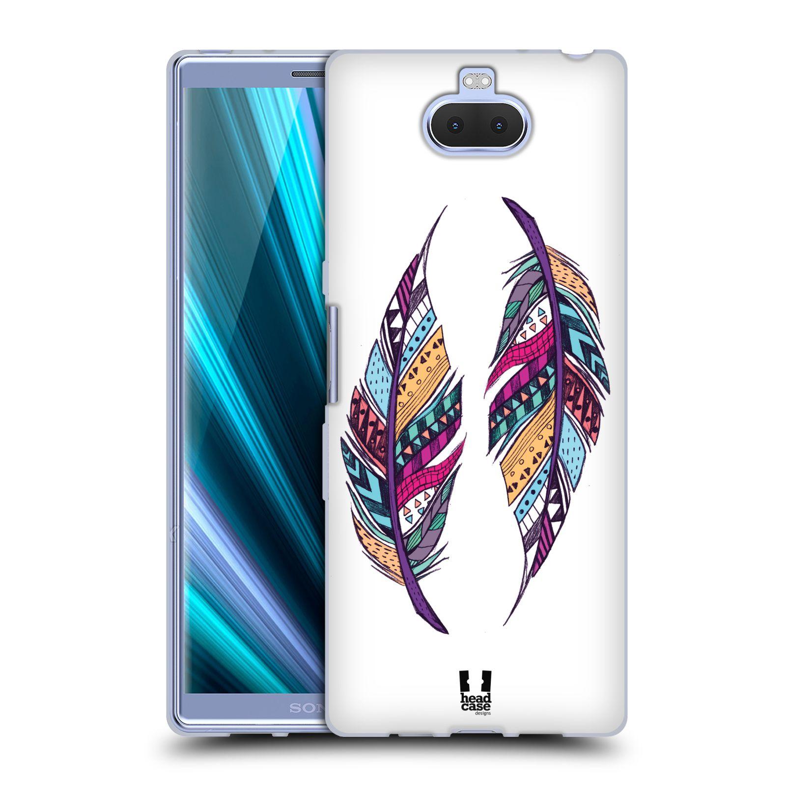 Silikonové pouzdro na mobil Sony Xperia 10 Plus - Head Case - AZTEC PÍRKA