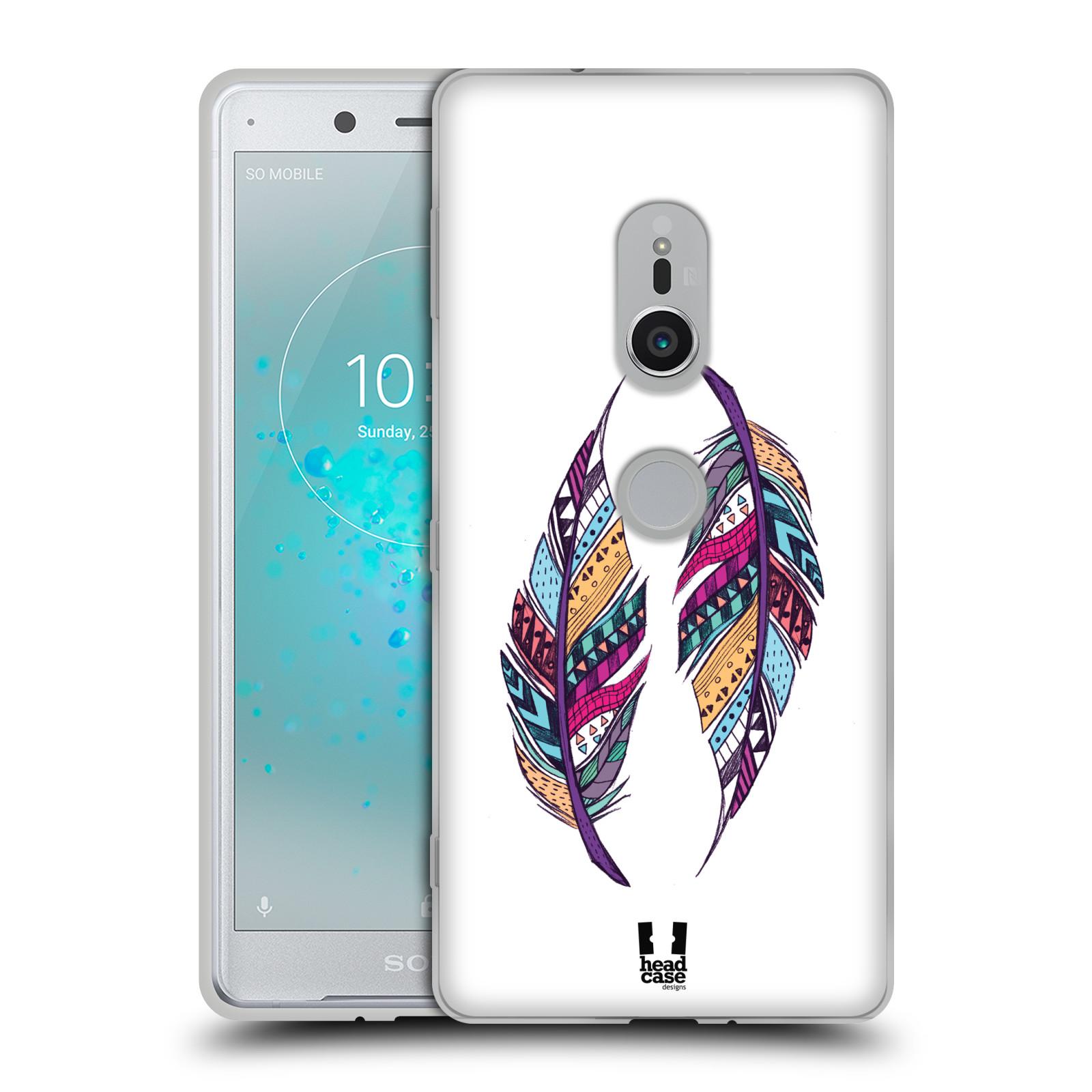 Silikonové pouzdro na mobil Sony Xperia XZ2 - Head Case - AZTEC PÍRKA