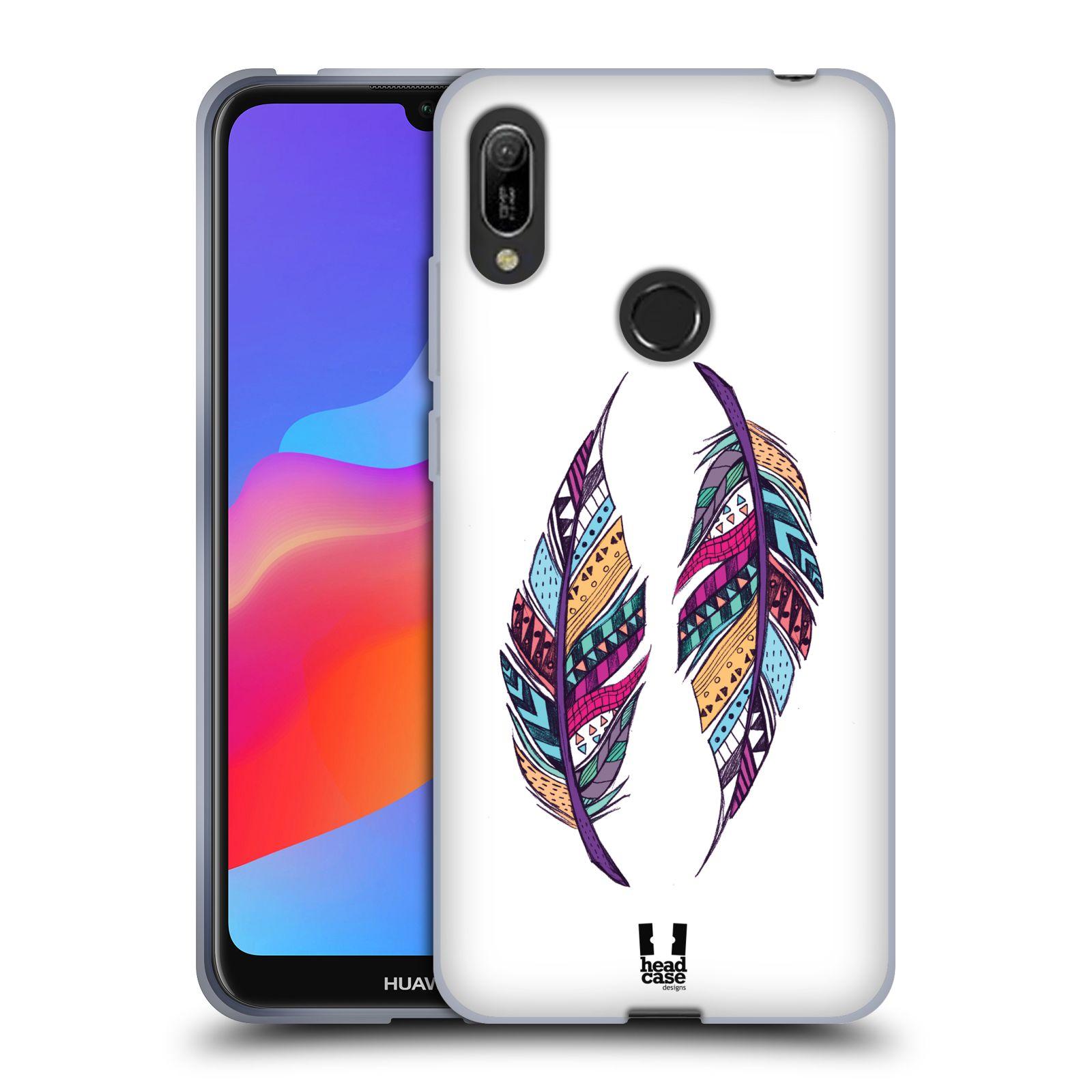 Silikonové pouzdro na mobil Huawei Y6 (2019) - Head Case - AZTEC PÍRKA