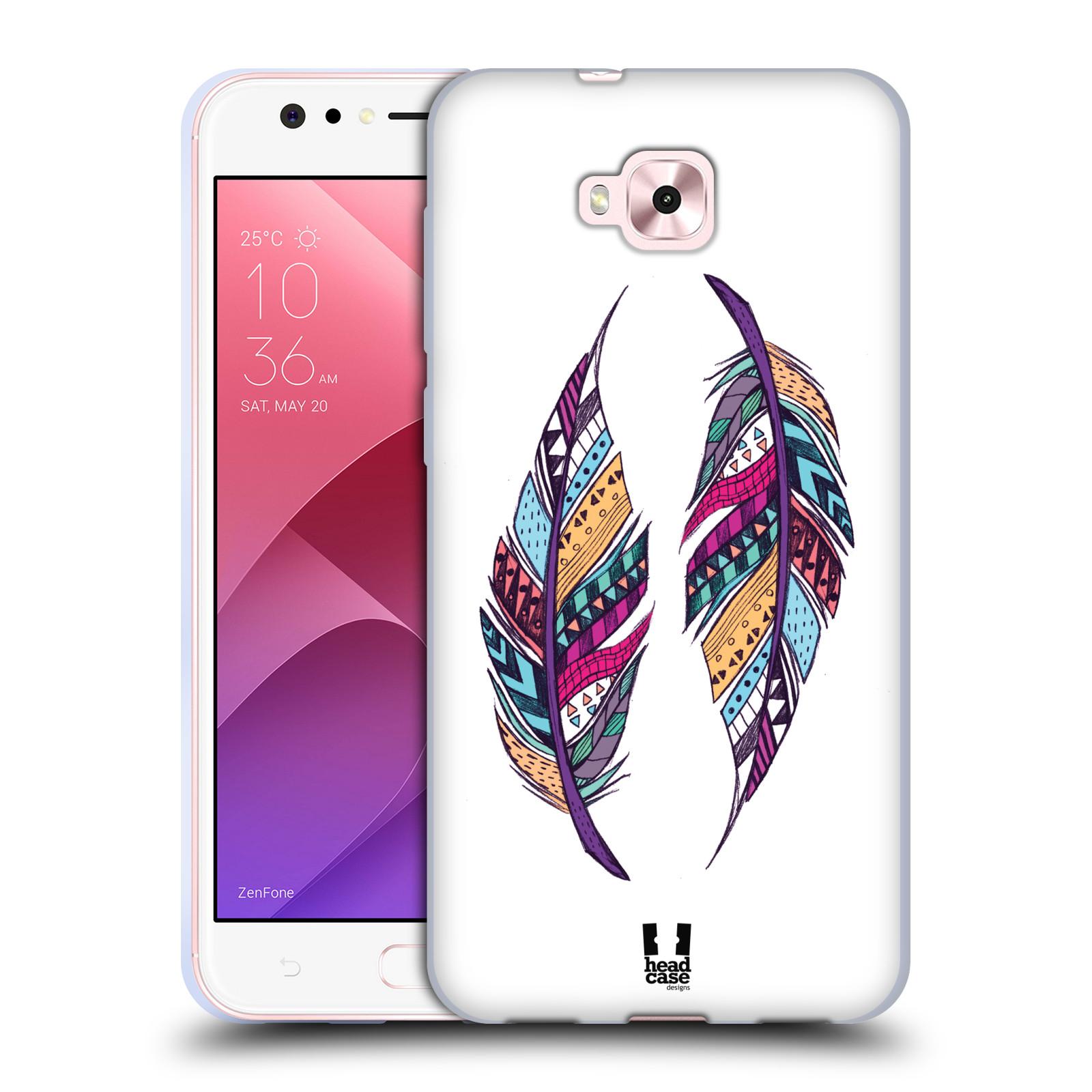Silikonové pouzdro na mobil Asus Zenfone 4 Selfie ZD553KL - Head Case - AZTEC PÍRKA