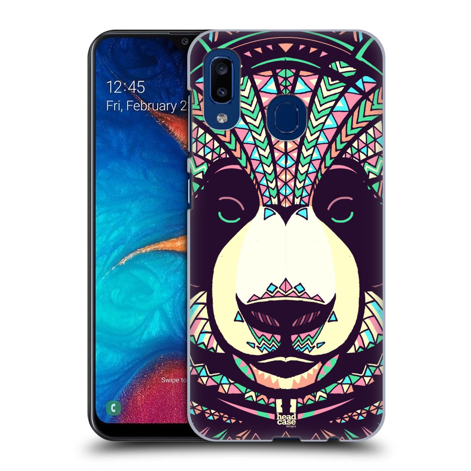Plastové pouzdro na mobil Samsung Galaxy A20 - Head Case - AZTEC PANDA