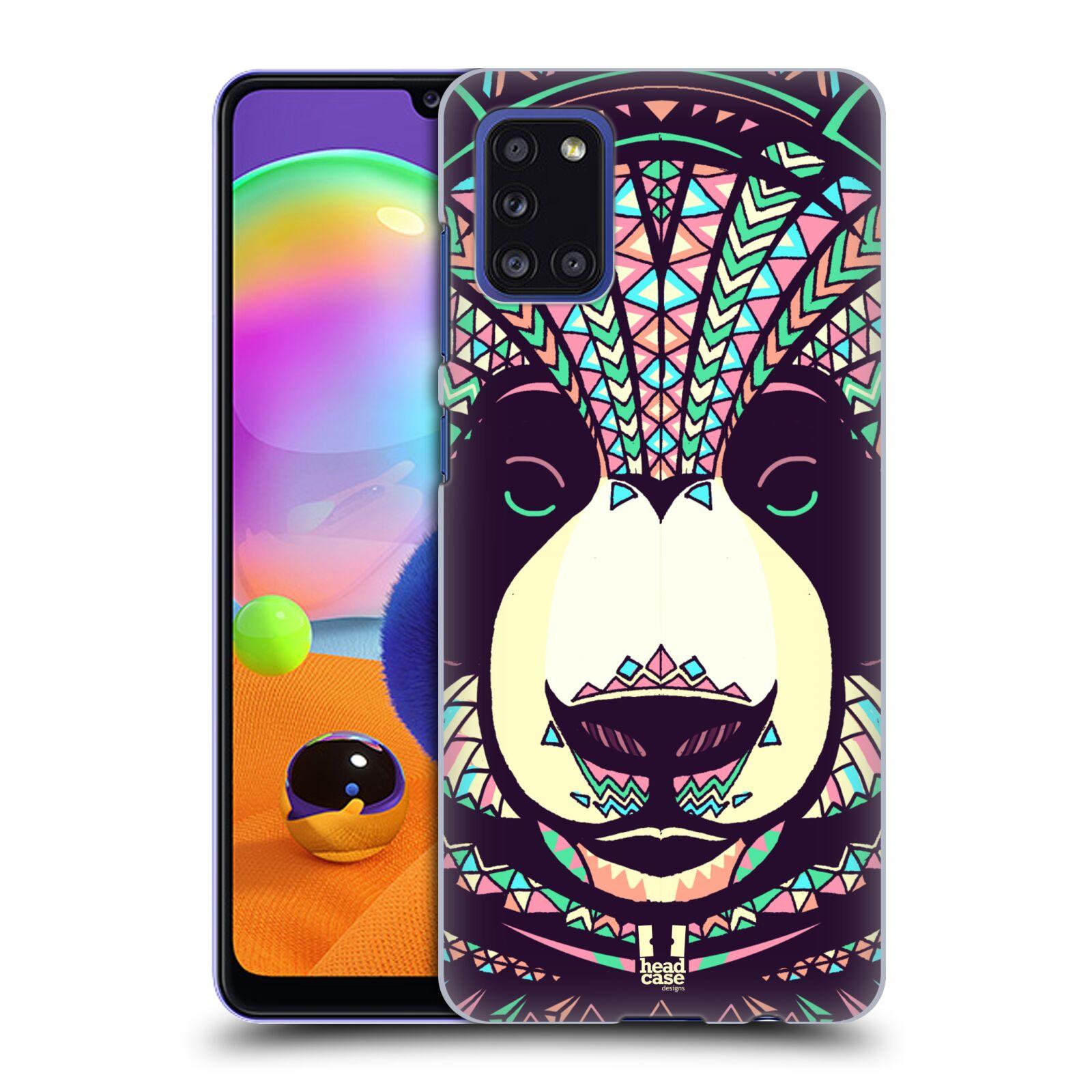 Plastové pouzdro na mobil Samsung Galaxy A31 - Head Case - AZTEC PANDA