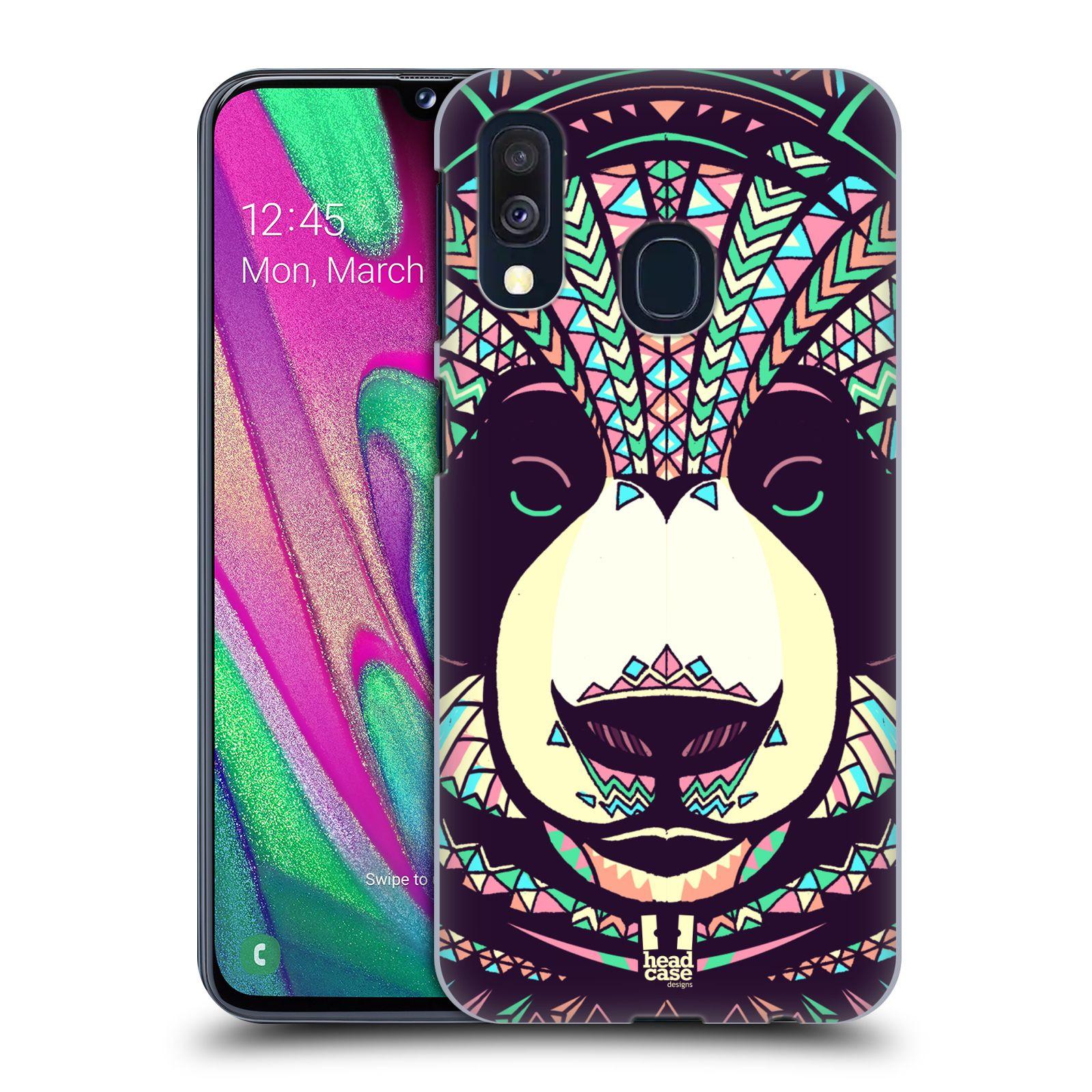 Plastové pouzdro na mobil Samsung Galaxy A40 - Head Case - AZTEC PANDA